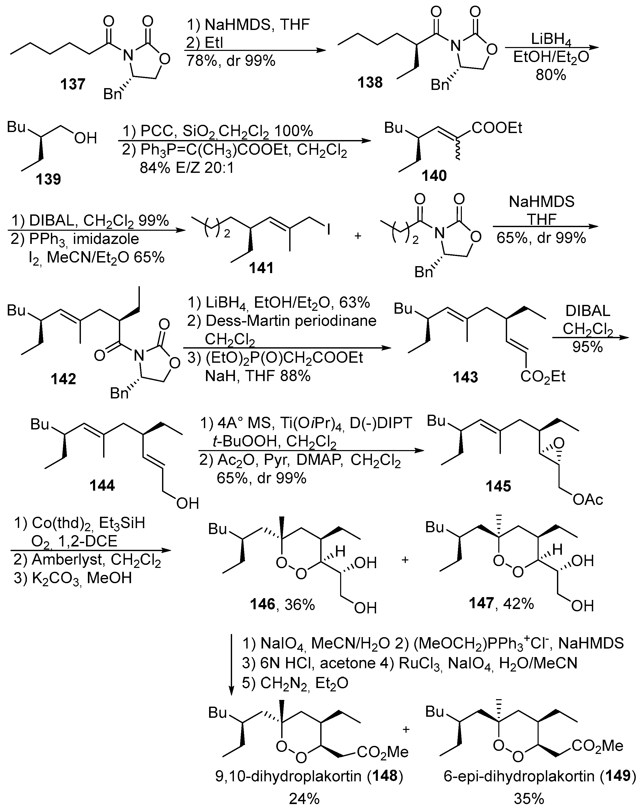 Peroxides With Anthelmintic