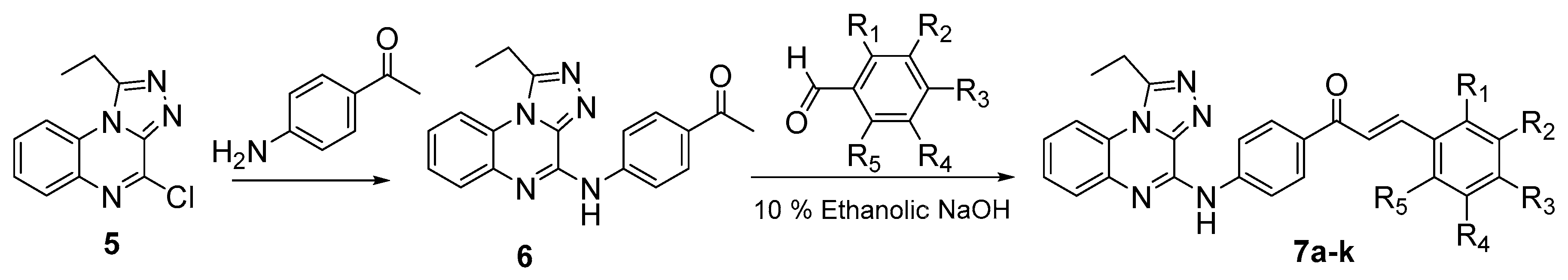 synthesis and evaluation chalcone analogues and