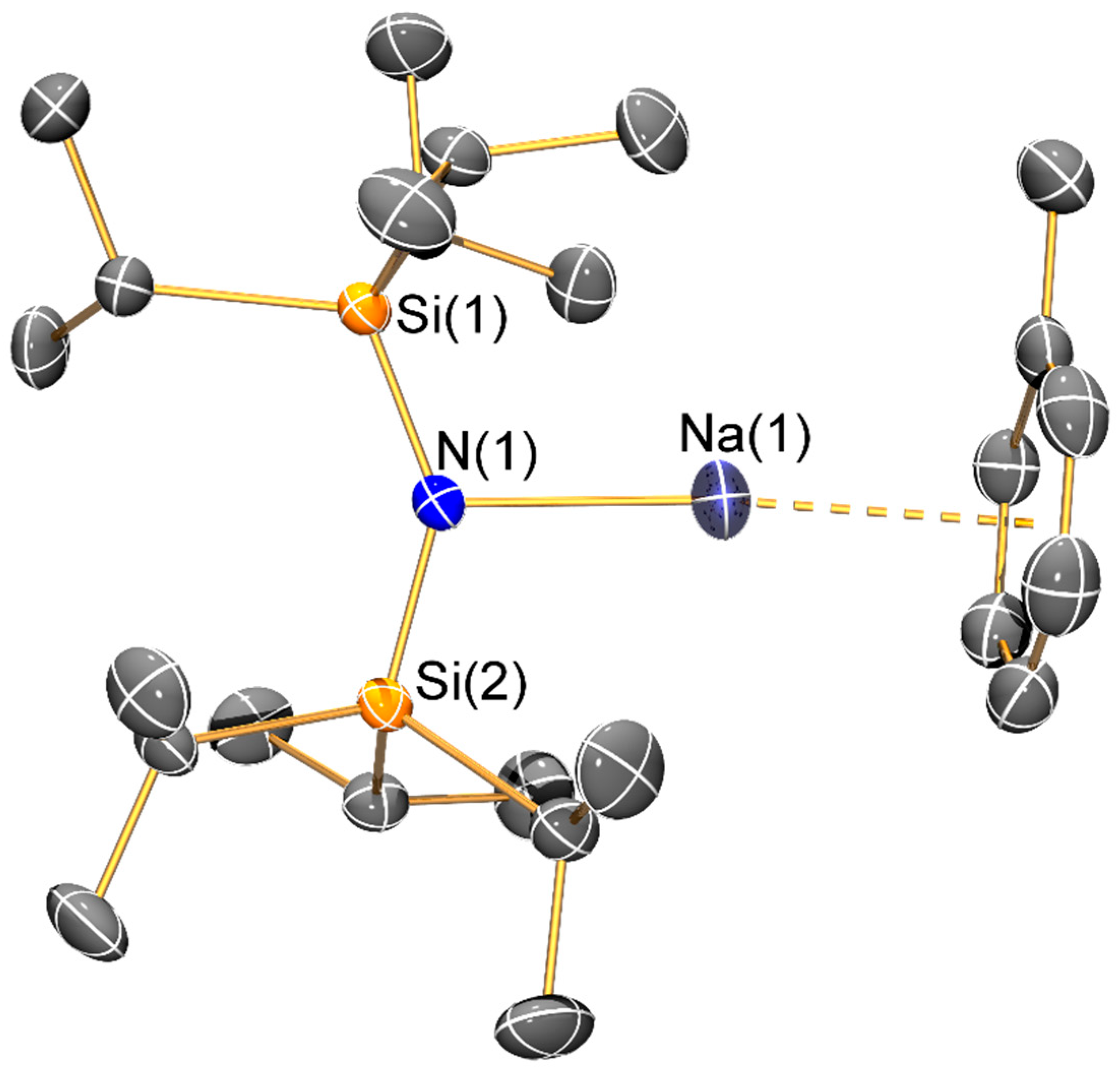 Molecules   Free Full-Text   Structural Characterization of Lithium and  Sodium Bulky Bis(silyl)amide Complexes   HTMLMDPI