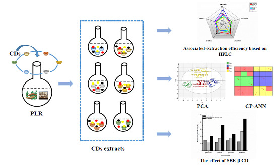 Molecules | Free Full-Text | Associated-Extraction Efficiency of Six