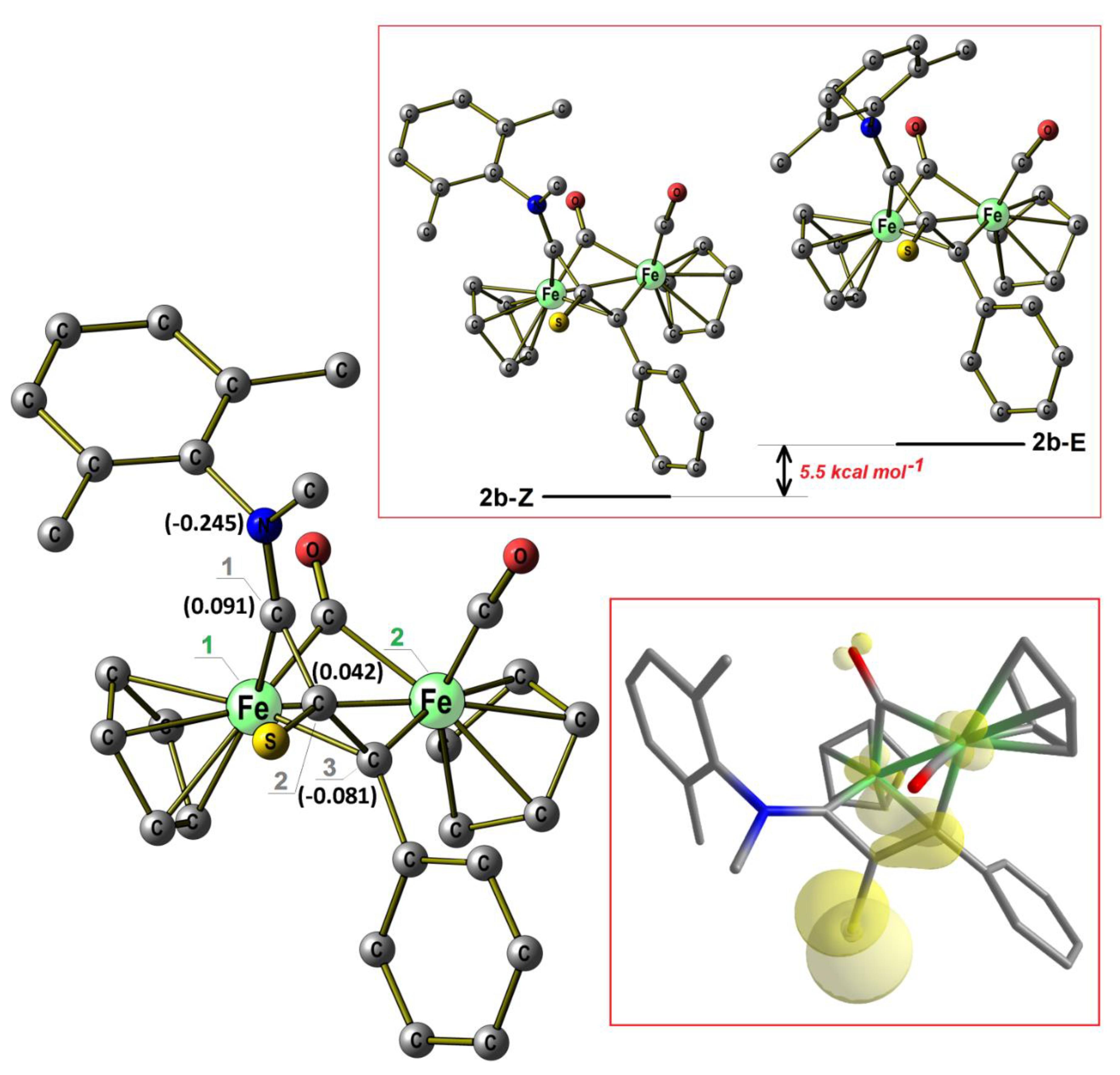 Molecules   Free Full Text   Mono , Di  and Tetra iron Complexes ...