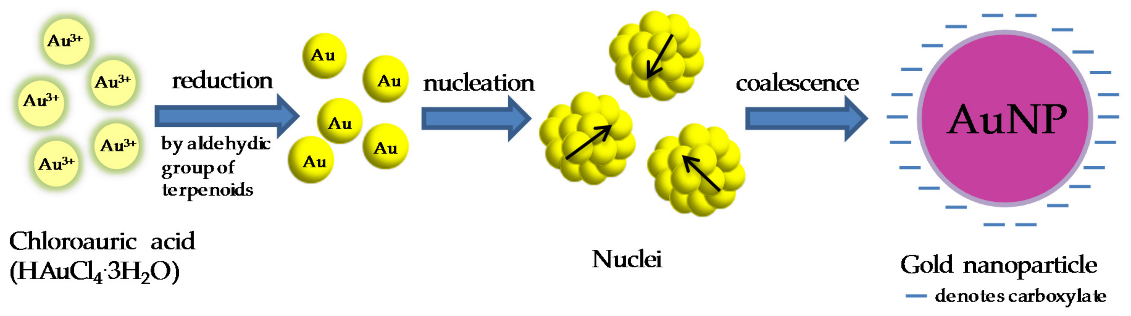 Gold nanoparticle synthesis review