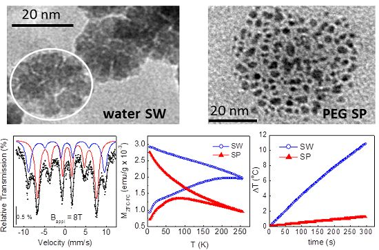 Nanomaterials Free Full Text Synthesis Of Ferrofluids Made Of