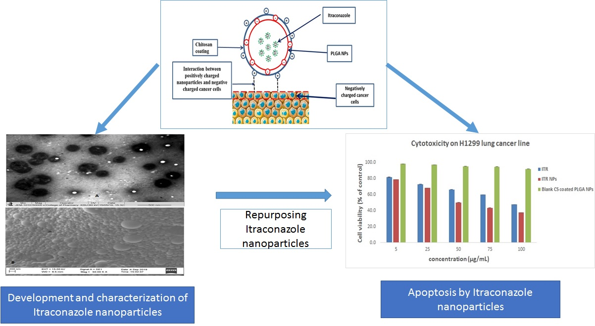 Pharmaceutics Free Full Text Repurposing Itraconazole Loaded Plga Nanoparticles For Improved Antitumor Efficacy In Non Small Cell Lung Cancers