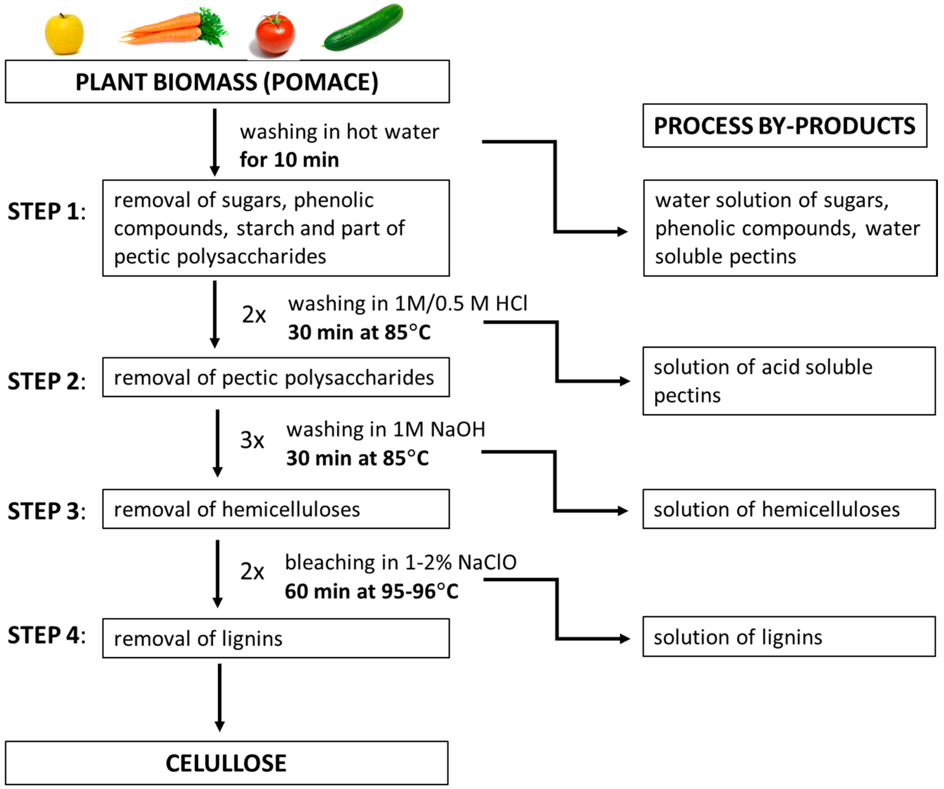 Polymers free full text isolation and characterization of cellulose from different fruit and vegetable pomaces html