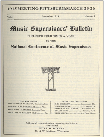 A Cover Story: Music Educators Journal and Historical-Political Narrativity