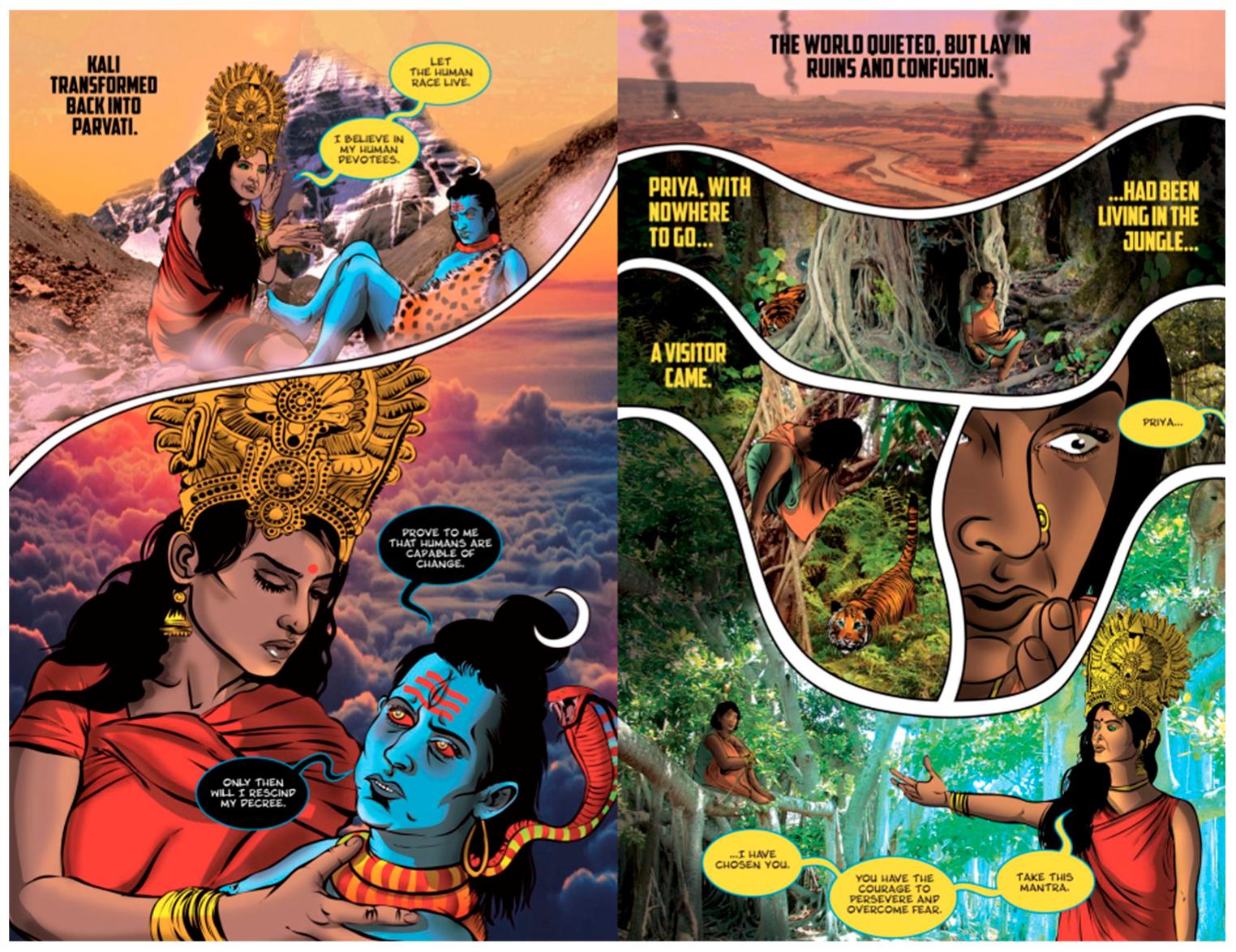 Religions | Free Full-Text | Mobilizing Shakti: Hindu Goddesses and