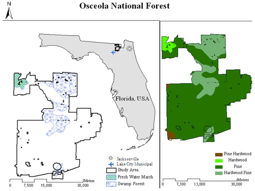 Remote Sensing Free FullText Modeling Relationships Among - Florida uplands map