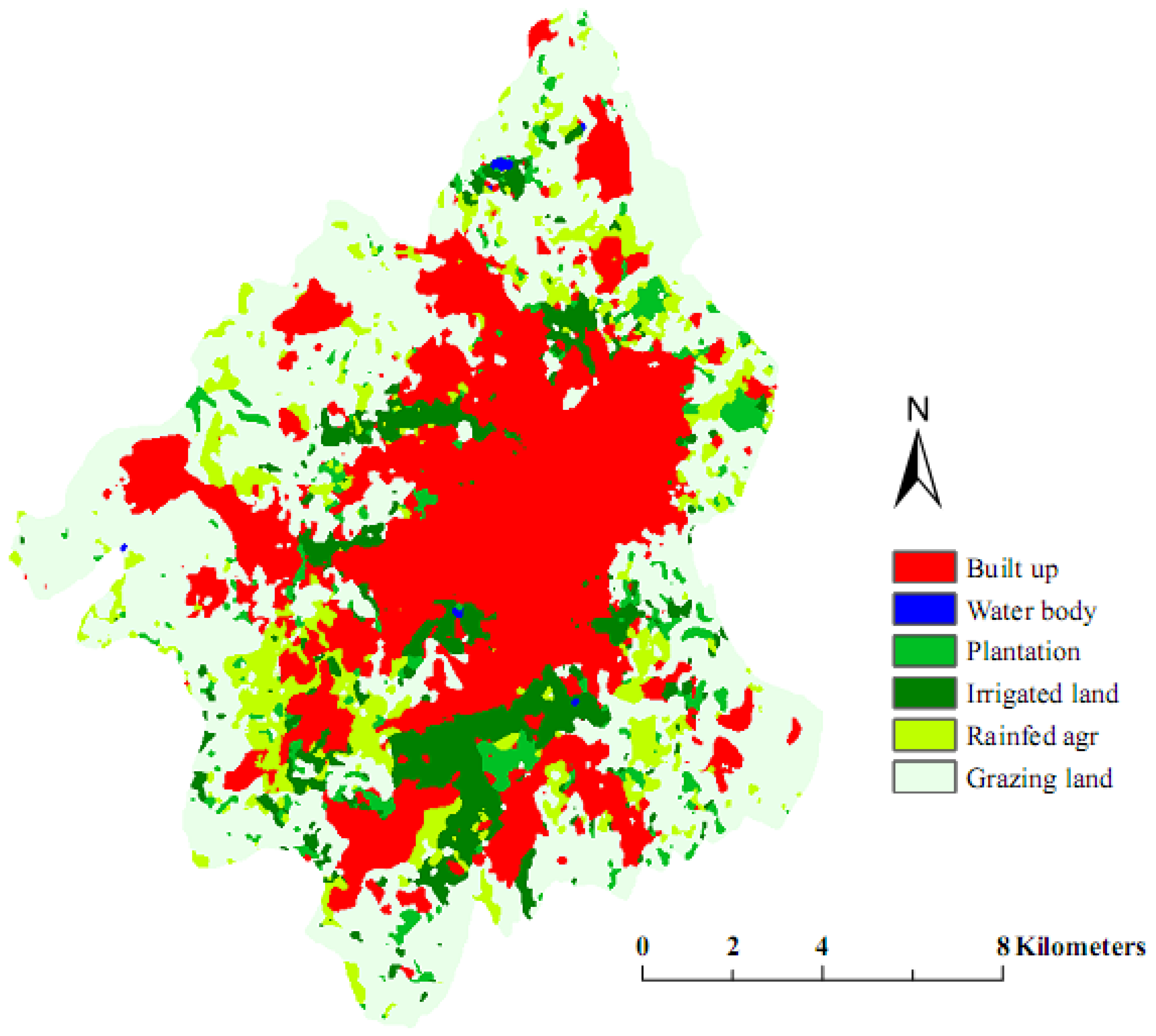 Remote Sensing | Free Full-Text | Urban Sprawl Analysis and