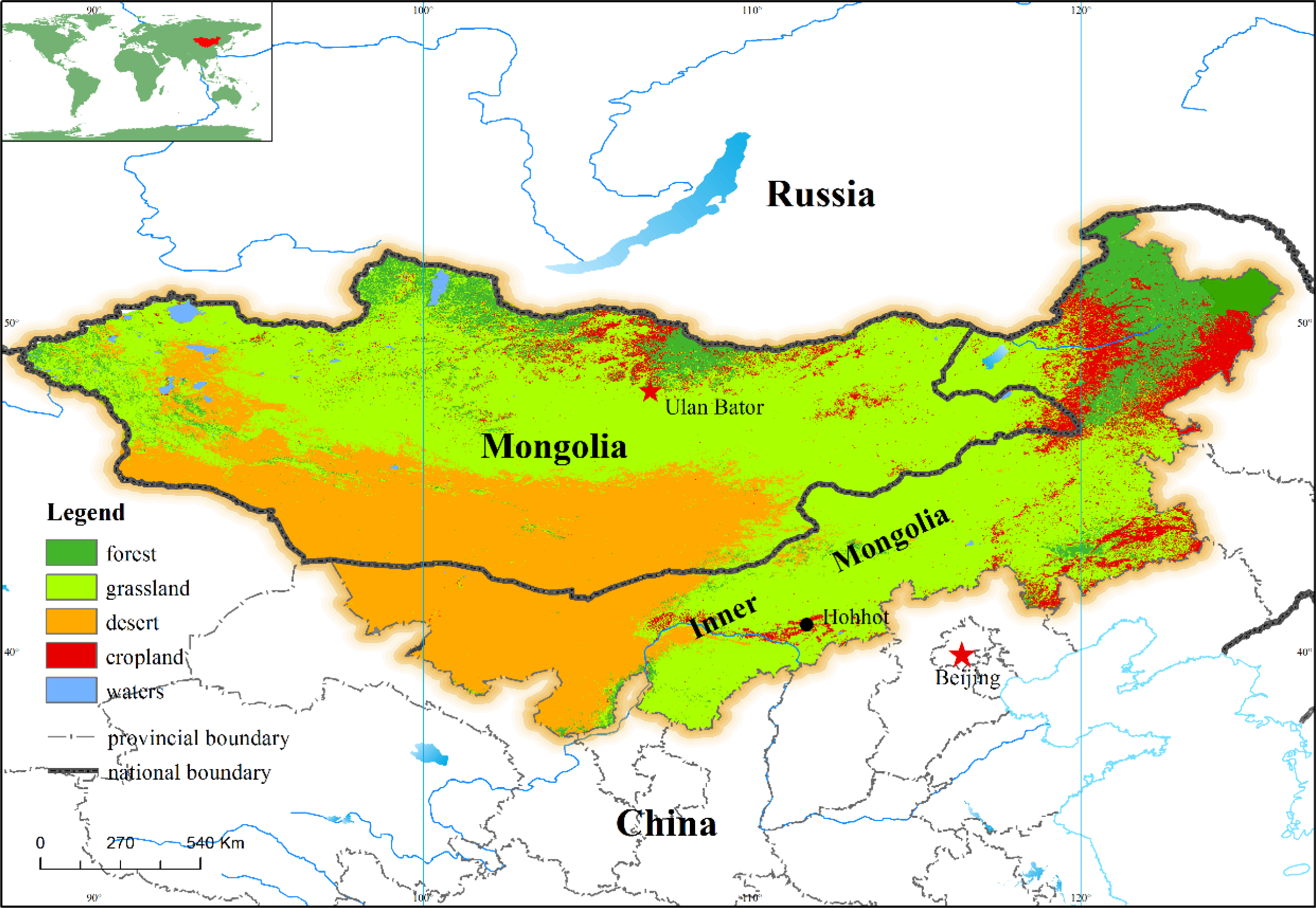 Mongolian plateau world map gm6fo mongolian plateau world map gumiabroncs Images