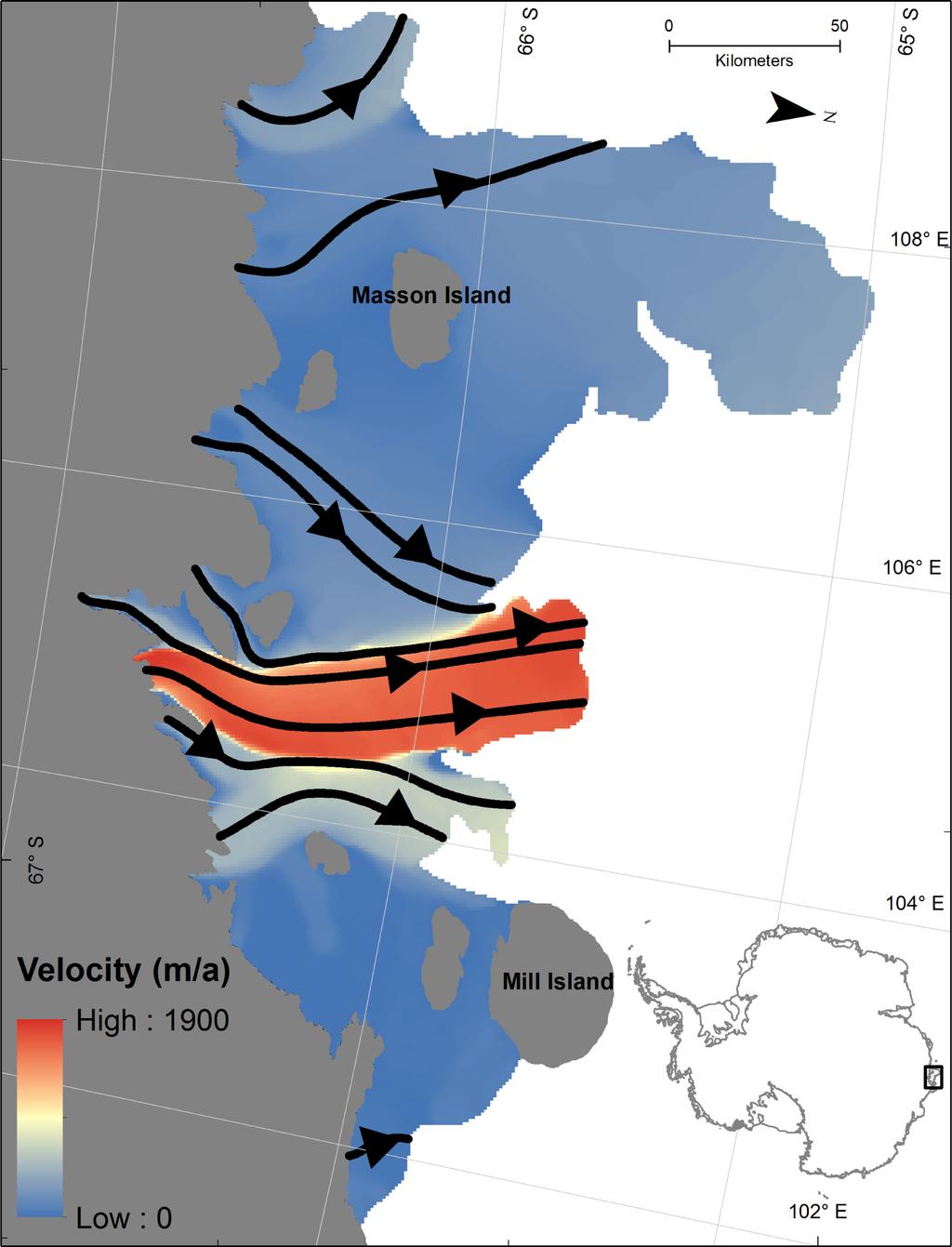 remote sensing full text calving fronts of antarctica remotesensing 05 06305f2 1024