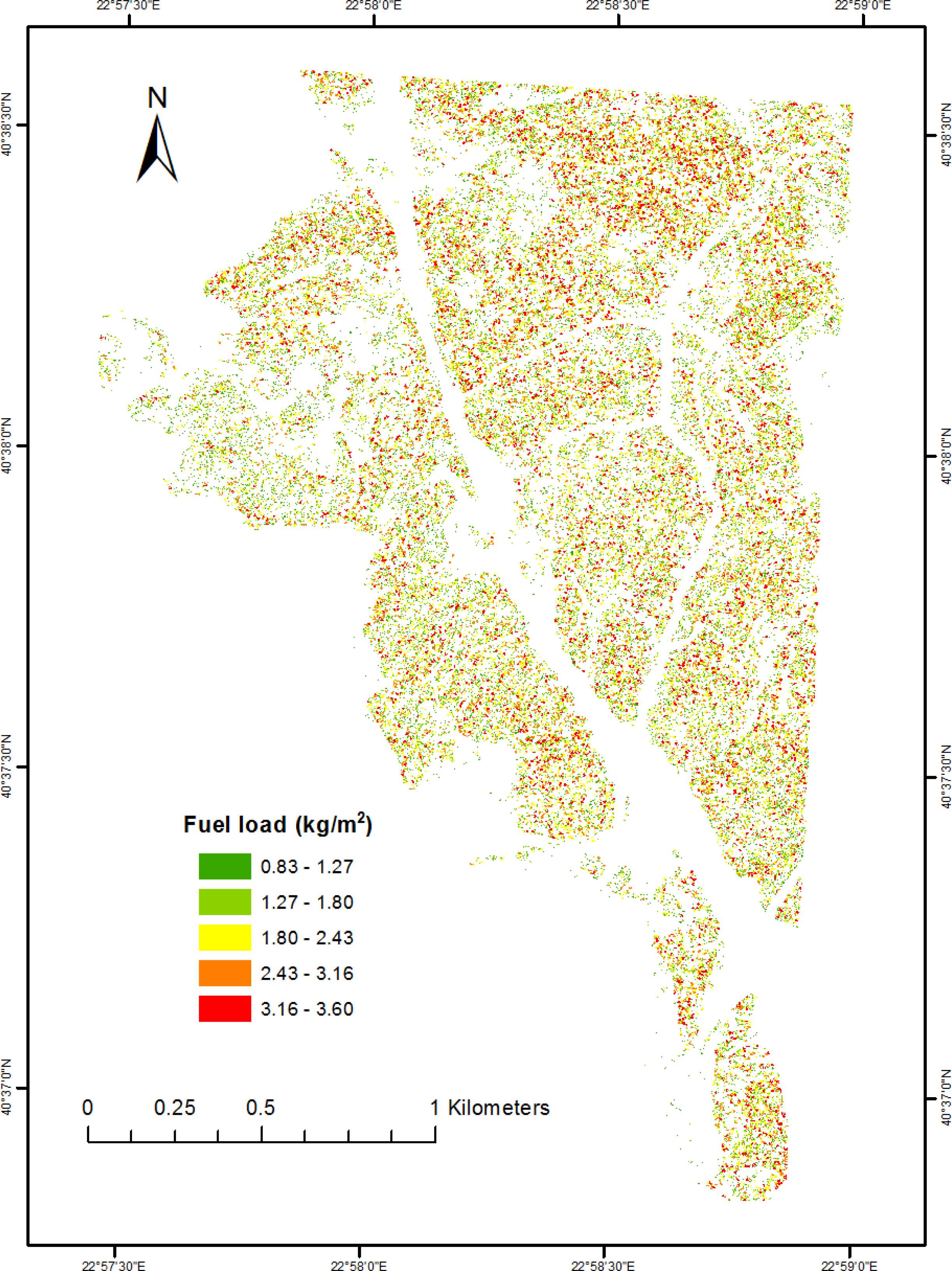 remote sensing | free full-text | canopy fuel load mapping of