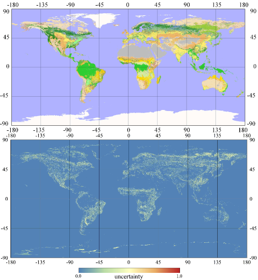 Remote sensing free full text a bayesian based method to graphical abstract gumiabroncs Choice Image