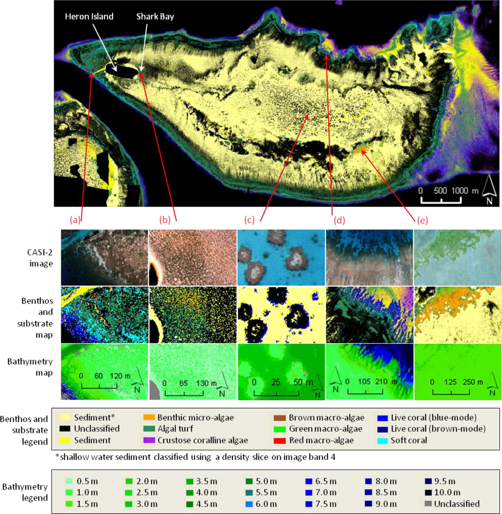 remote sensing bathymetry of coral reefs These world-first digital maps of the coral reefs, using  germany-based aquatic remote-sensing company eomap  visit our great barrier reef bathymetry site for.