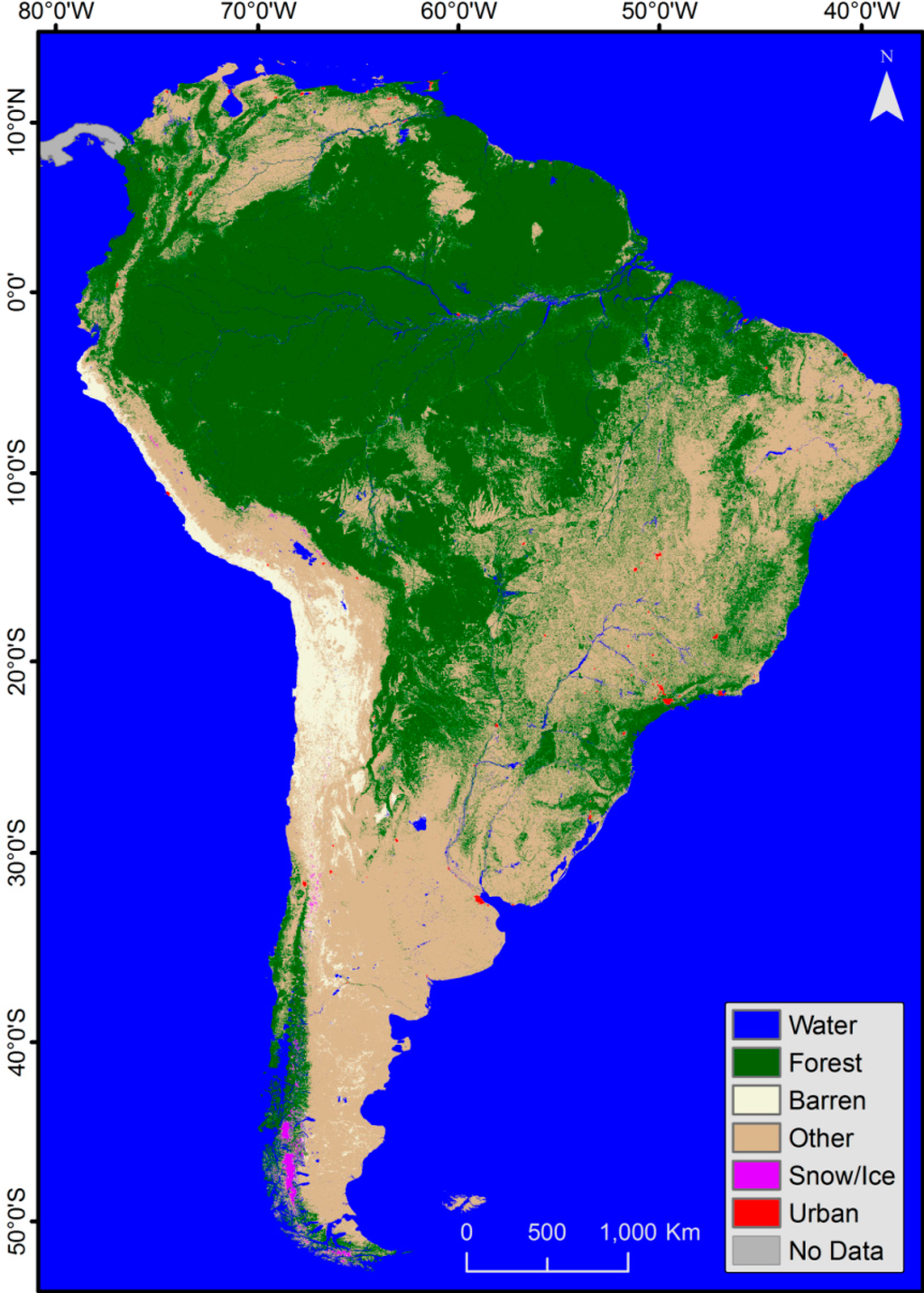 Remote sensing free full text land cover for How to get free land in usa