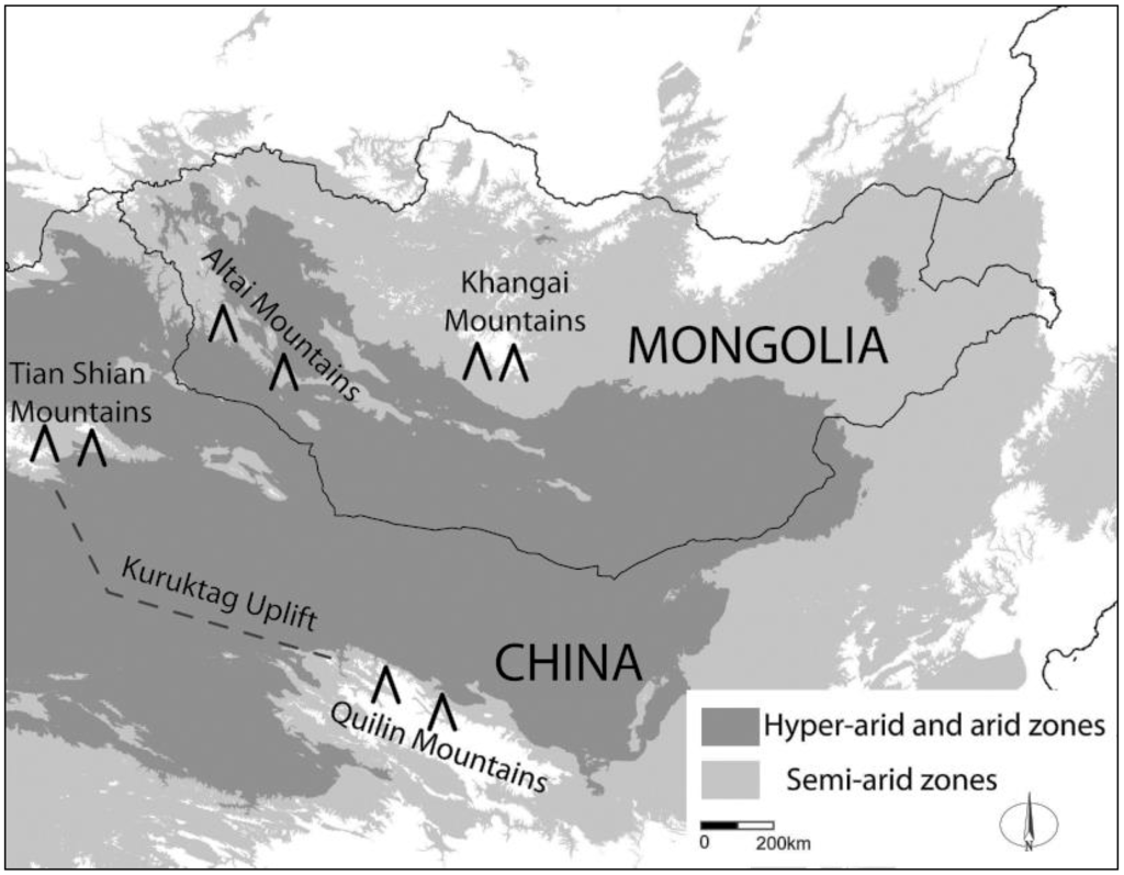 Remote Sensing Free Full Text Contraction Of The Gobi Desert