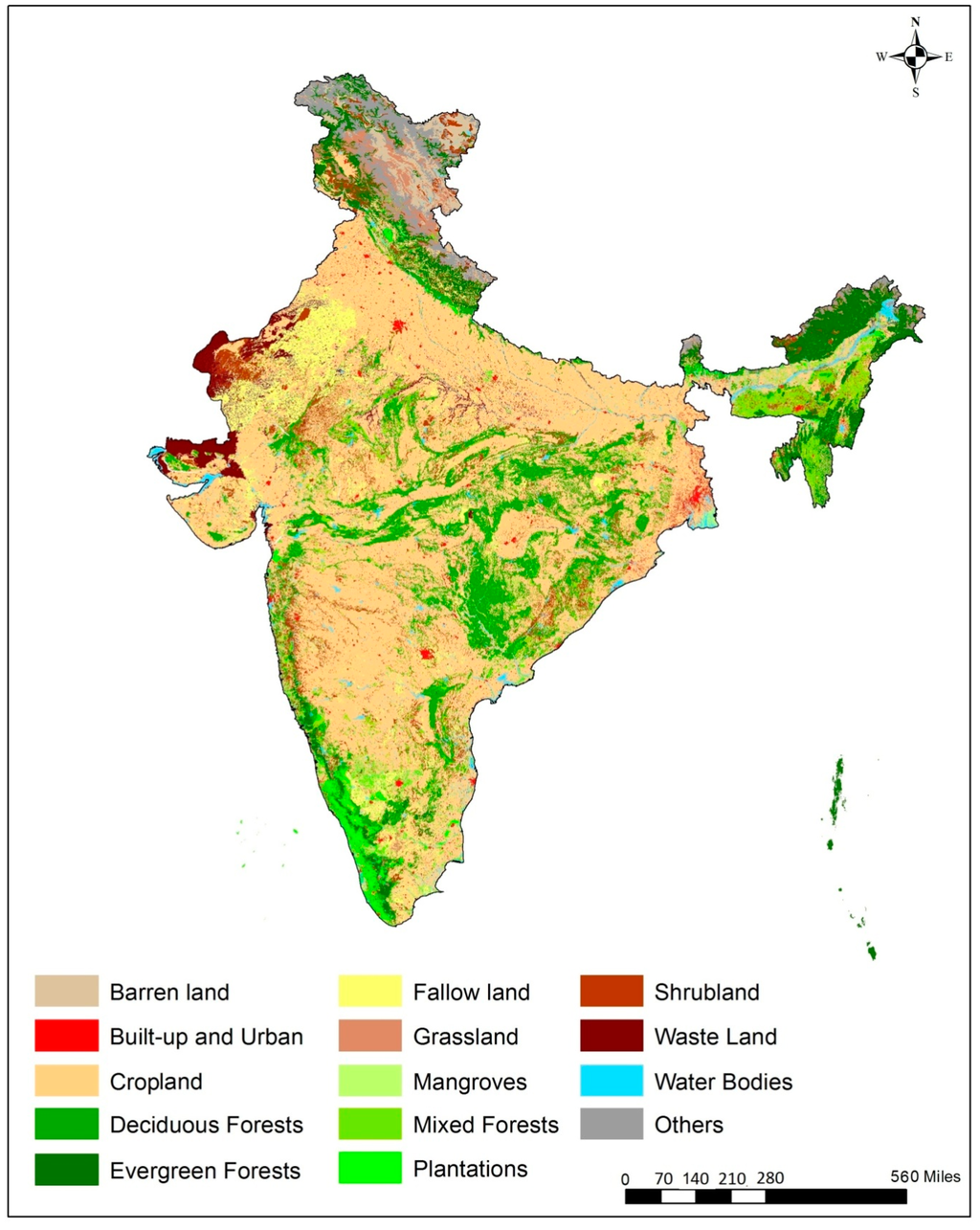 Remote sensing free full text development of decadal for Soil in india