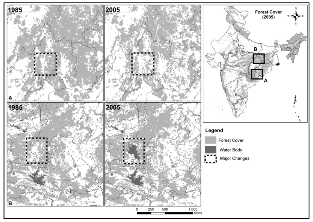 land use classification in india