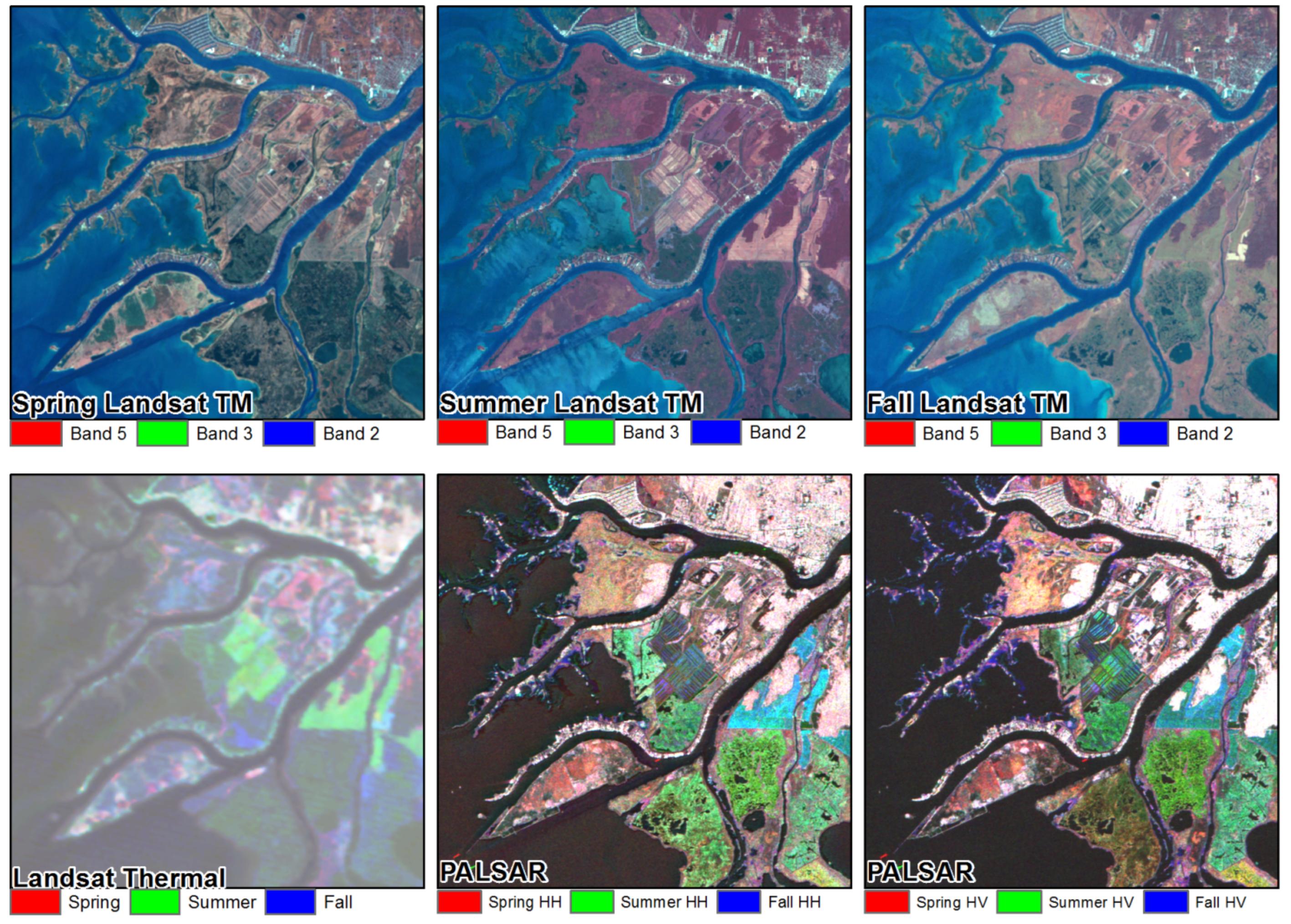 Remote Sensing Free FullText Development Of A BiNational - Coastal wetlands map us