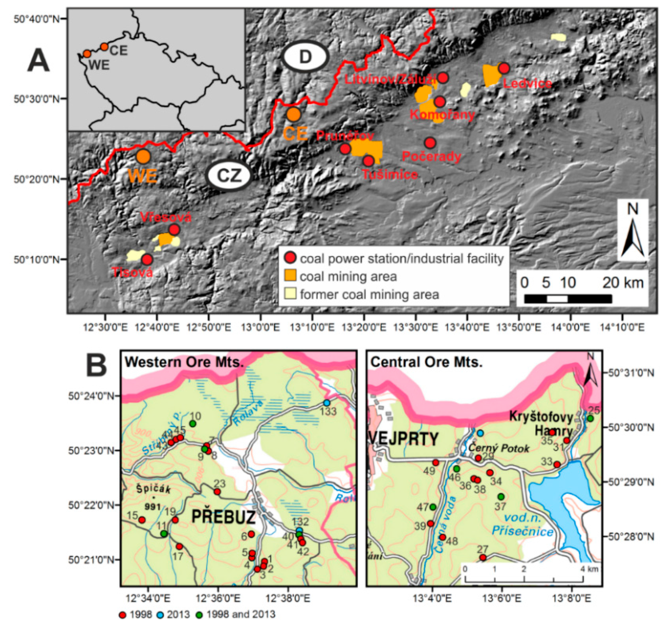 Remote Sensing Free FullText Detection Of SpatioTemporal - Norway map mountains
