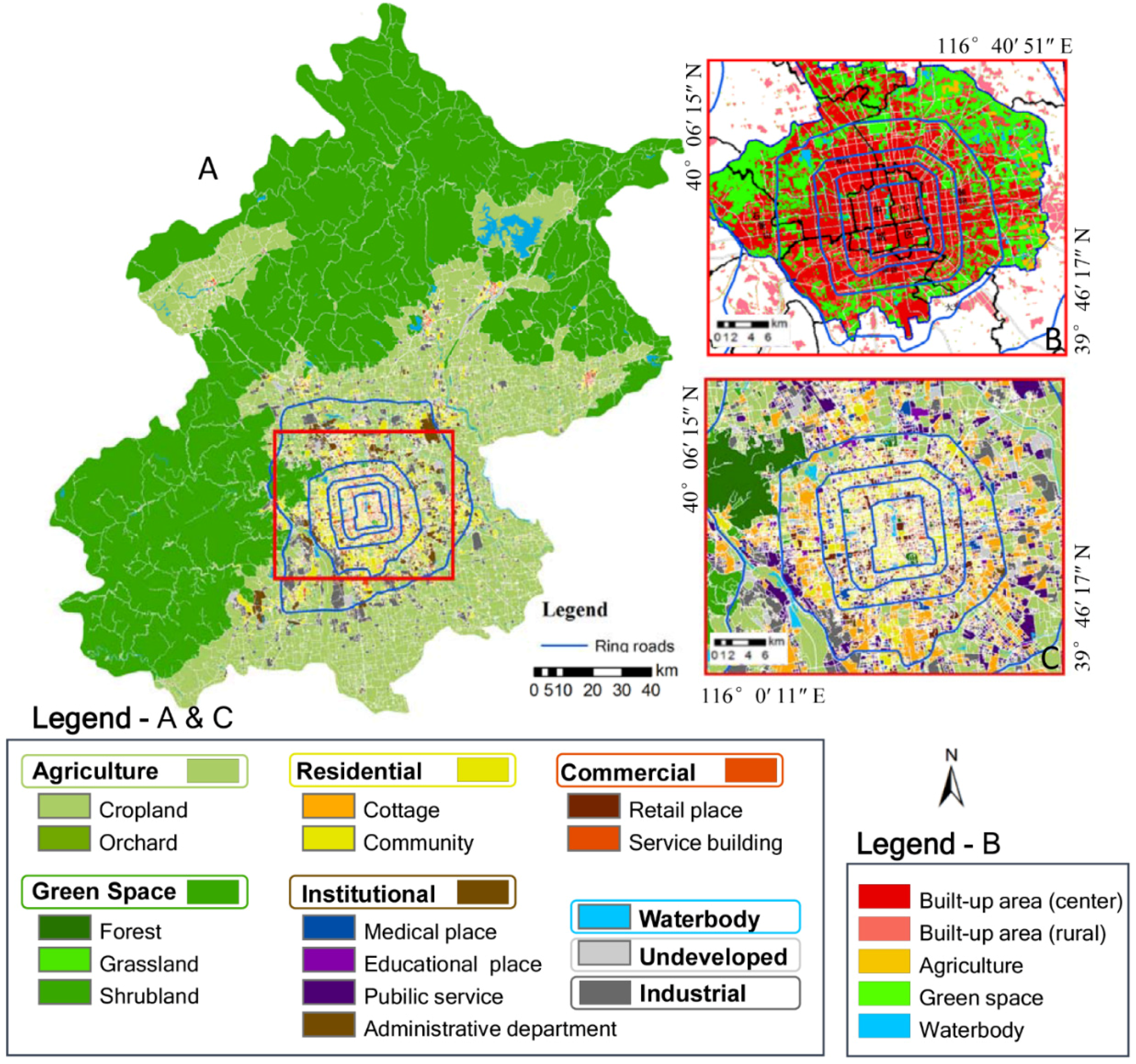 Picture of: Remote Sensing Free Full Text Mapping Urban Land Use By Using Landsat Images And Open Social Data Html