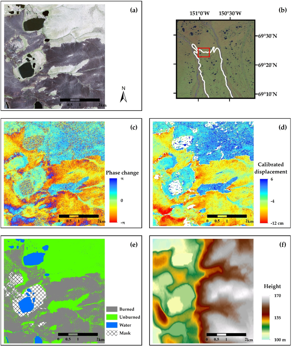 remote sensing free full text insar detection and