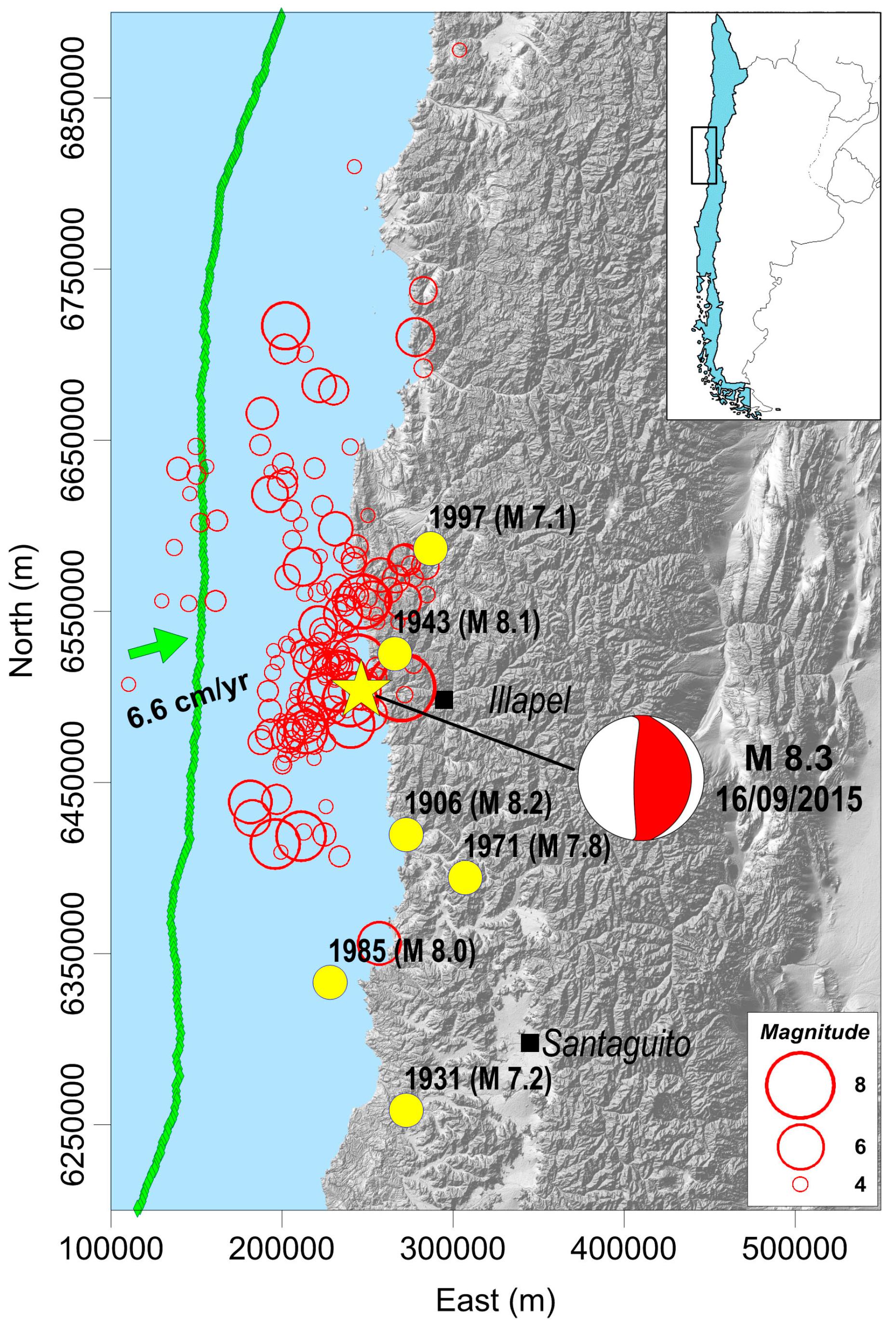 2015 Illapel earthquake