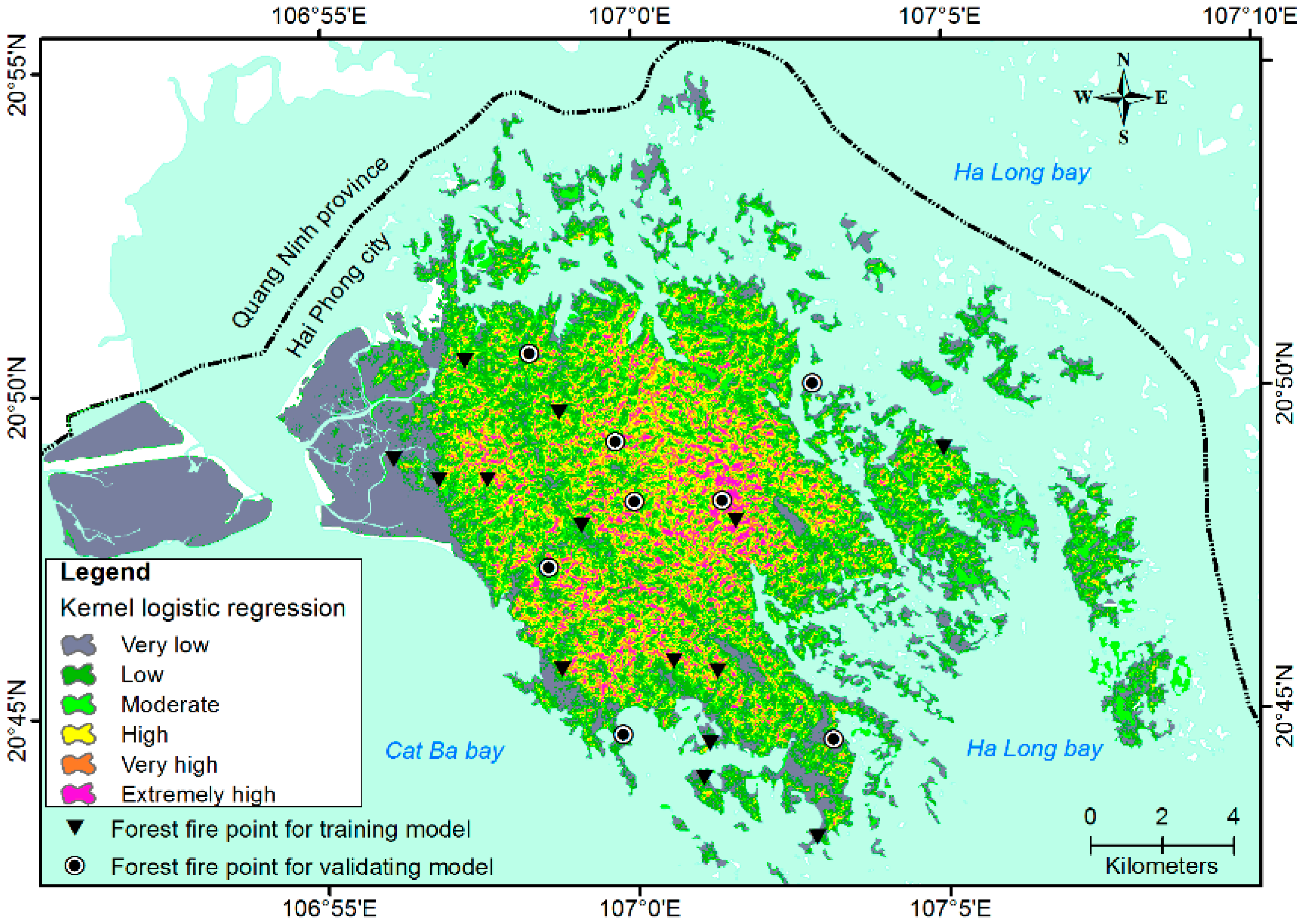 Haiphong Vietnam Map.Remote Sensing Free Full Text Tropical Forest Fire