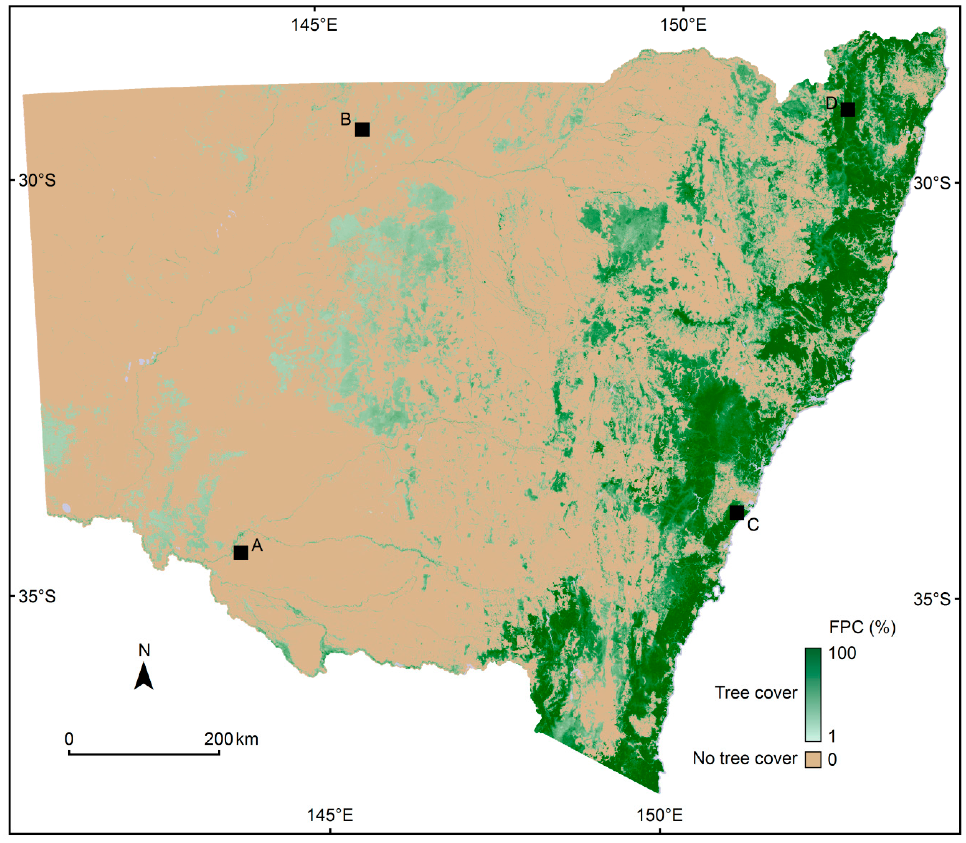 Map Of Australia New South Wales.Remote Sensing Free Full Text Large Area High Resolution Tree