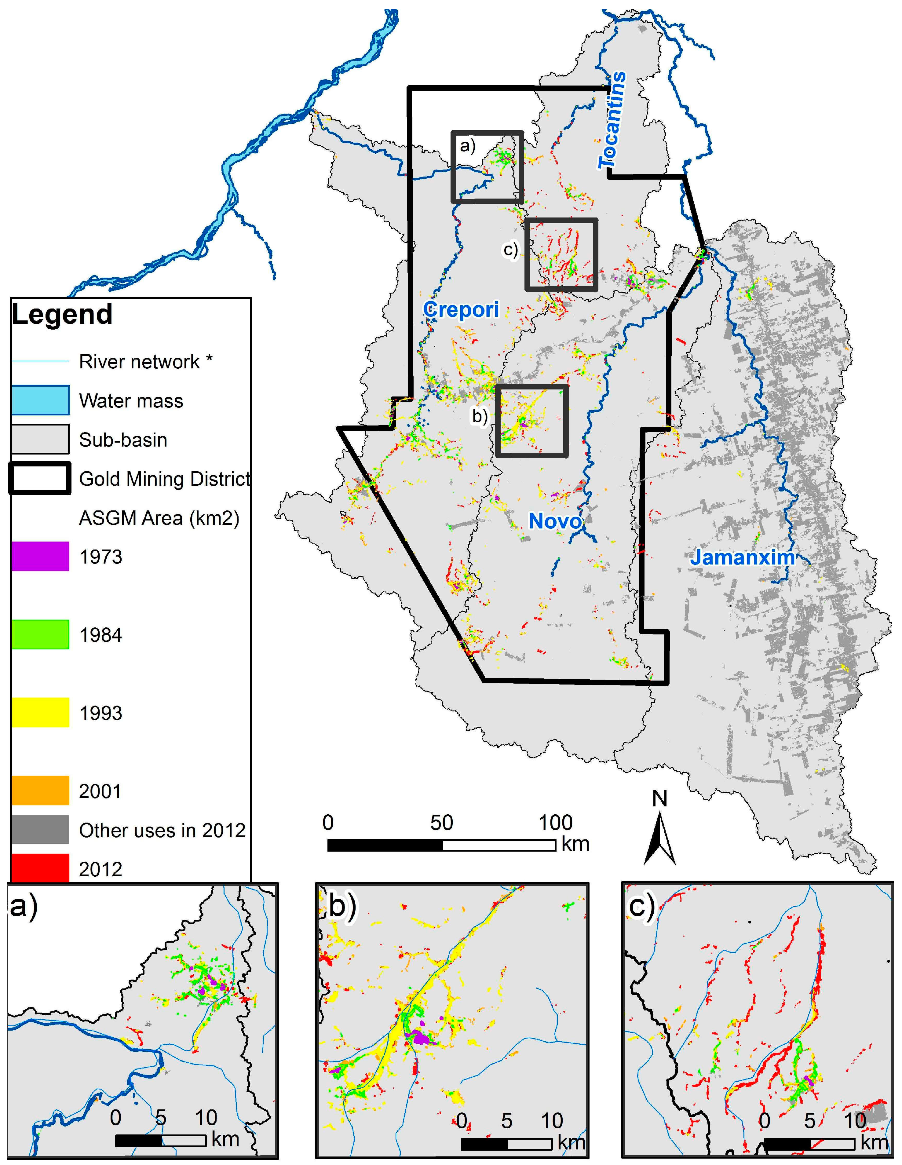 Remote Sensing | Free Full-Text | Distribution of Artisanal and ...