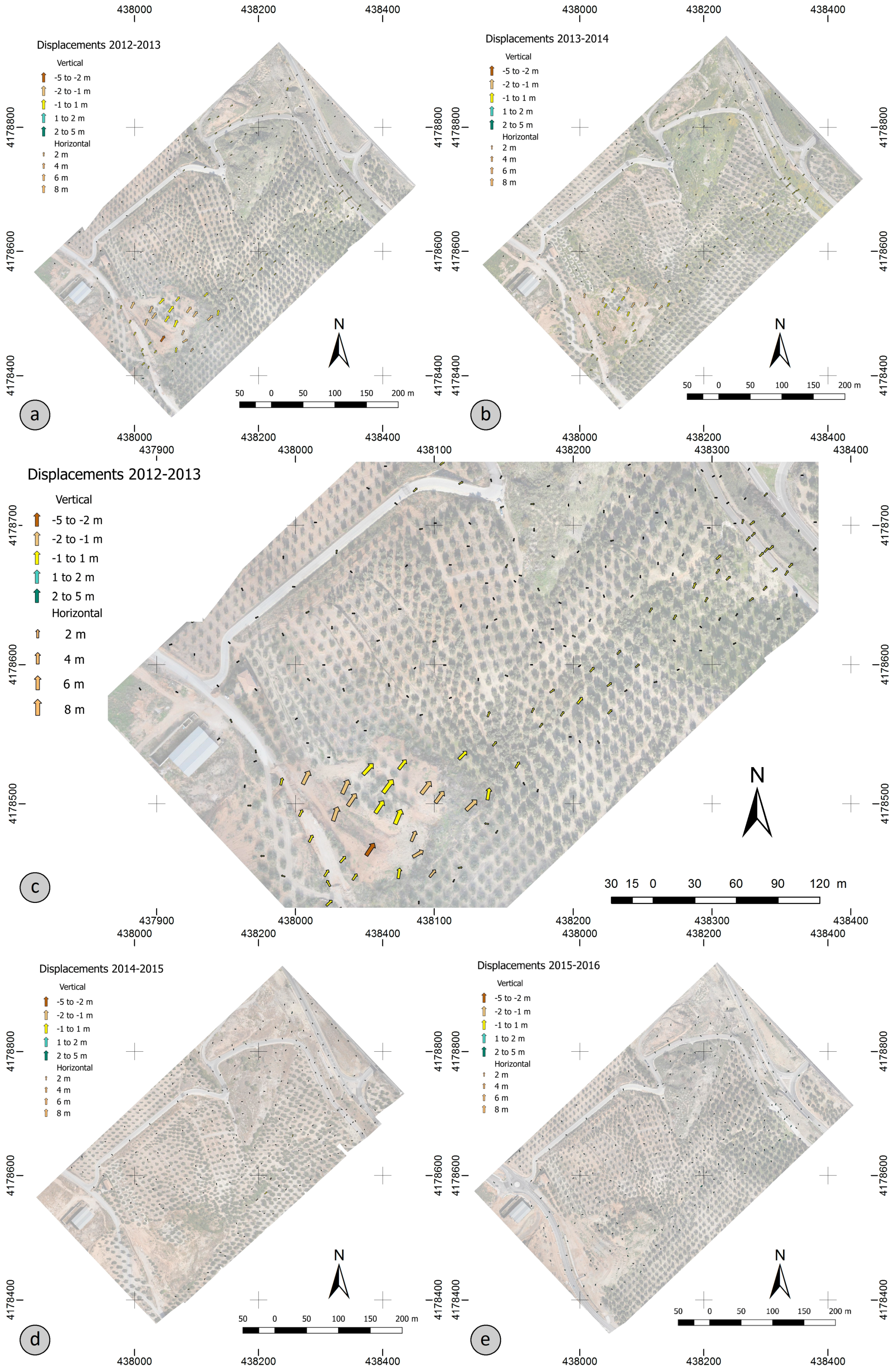 Remote Sensing Free Full Text Analysis Of Landslide Evolution Circuit Board This Is An Old From A Sony Mav Remotesensing 08 00837 G010