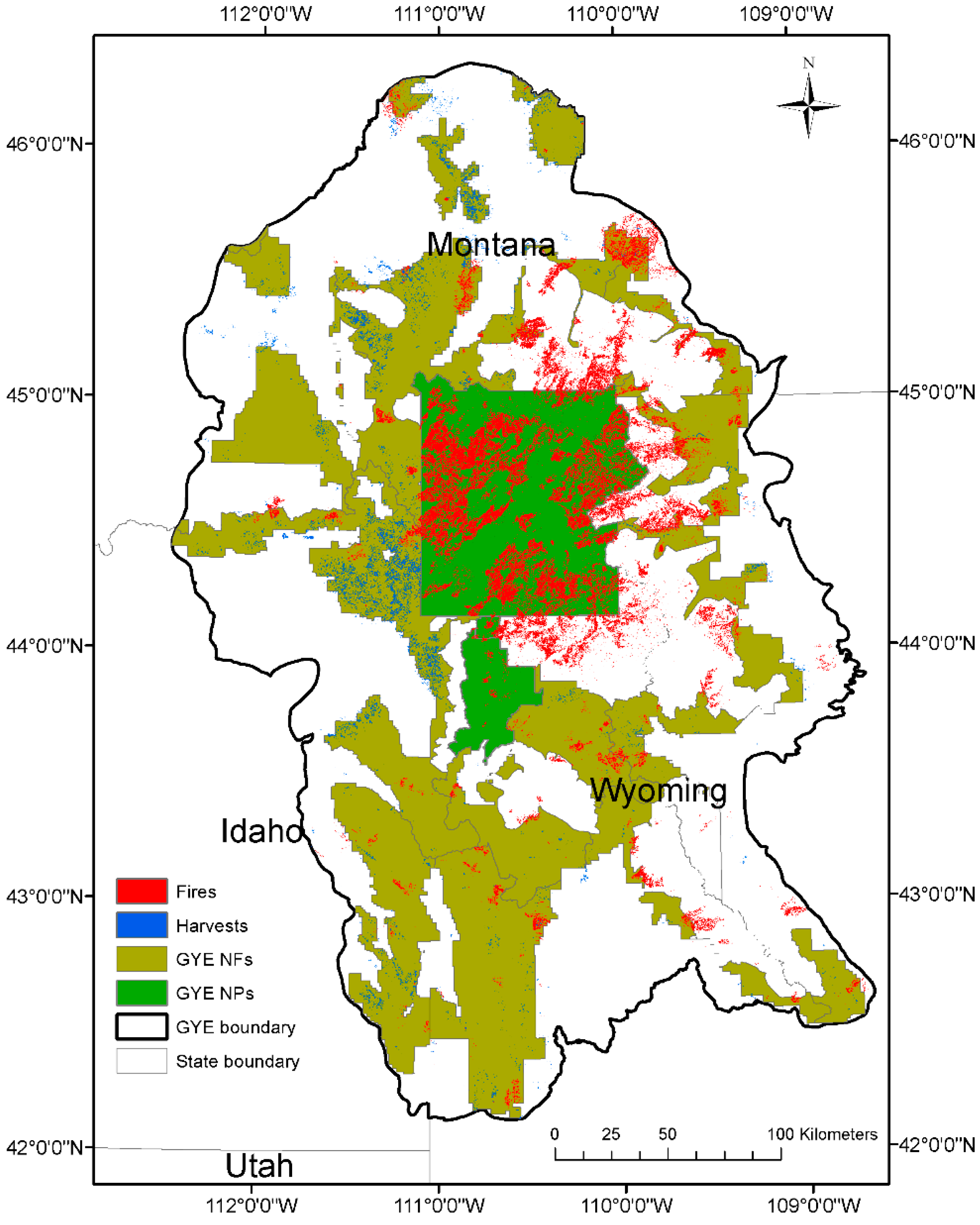 Remote Sensing | Free Full-Text | Long-Term Post-Disturbance Forest on sequoia fire map, valley fire map, lake fire map, wyoming fire map, beaver fire map, dodge fire map, idaho fire map, earth fire map, monticello fire map, olympic national park fire map, cascade fire map, jackson fire map, yosemite fire map, roosevelt fire map, lincoln fire map, stouts fire map, butte fire map, 1910 fire map, orion fire map, washington fire map,