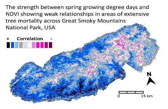 Spring and Autumn Phenological Variability across Environmental Gradients of Great Smoky Mountains National Park, USA