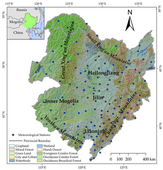 Evaluation of MODIS Land Surface Temperature Data to Estimate Near-Surface Air Temperature in Northeast China