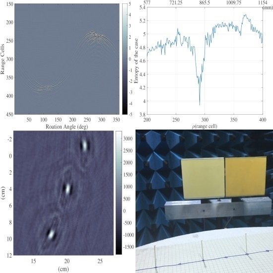 Precision Near-Field Reconstruction in the Time Domain via Minimum Entropy for Ultra-High Resolution Radar Imaging