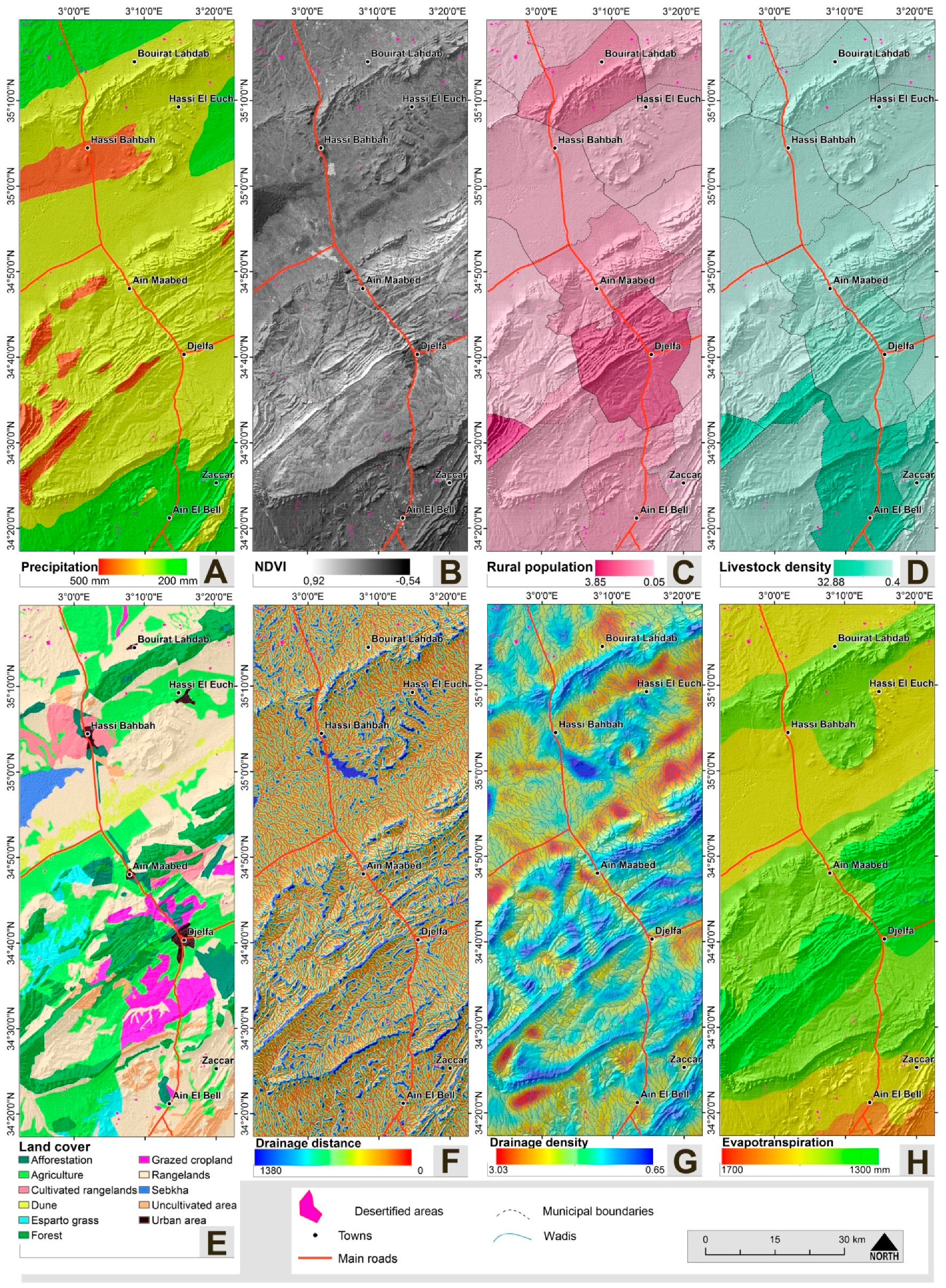 Remote Sensing | Free Full-Text | Desertification Susceptibility ...
