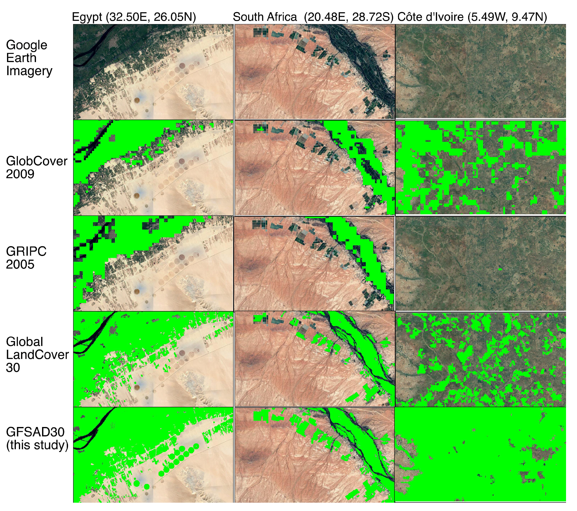 Remote Sensing | Free Full-Text | Nominal 30-m Cropland Extent Map