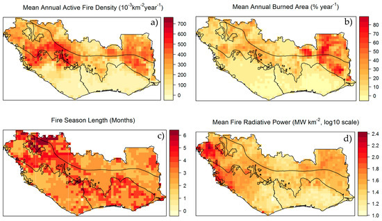 Remote Sensing Free FullText Fire Regimes and Their Drivers