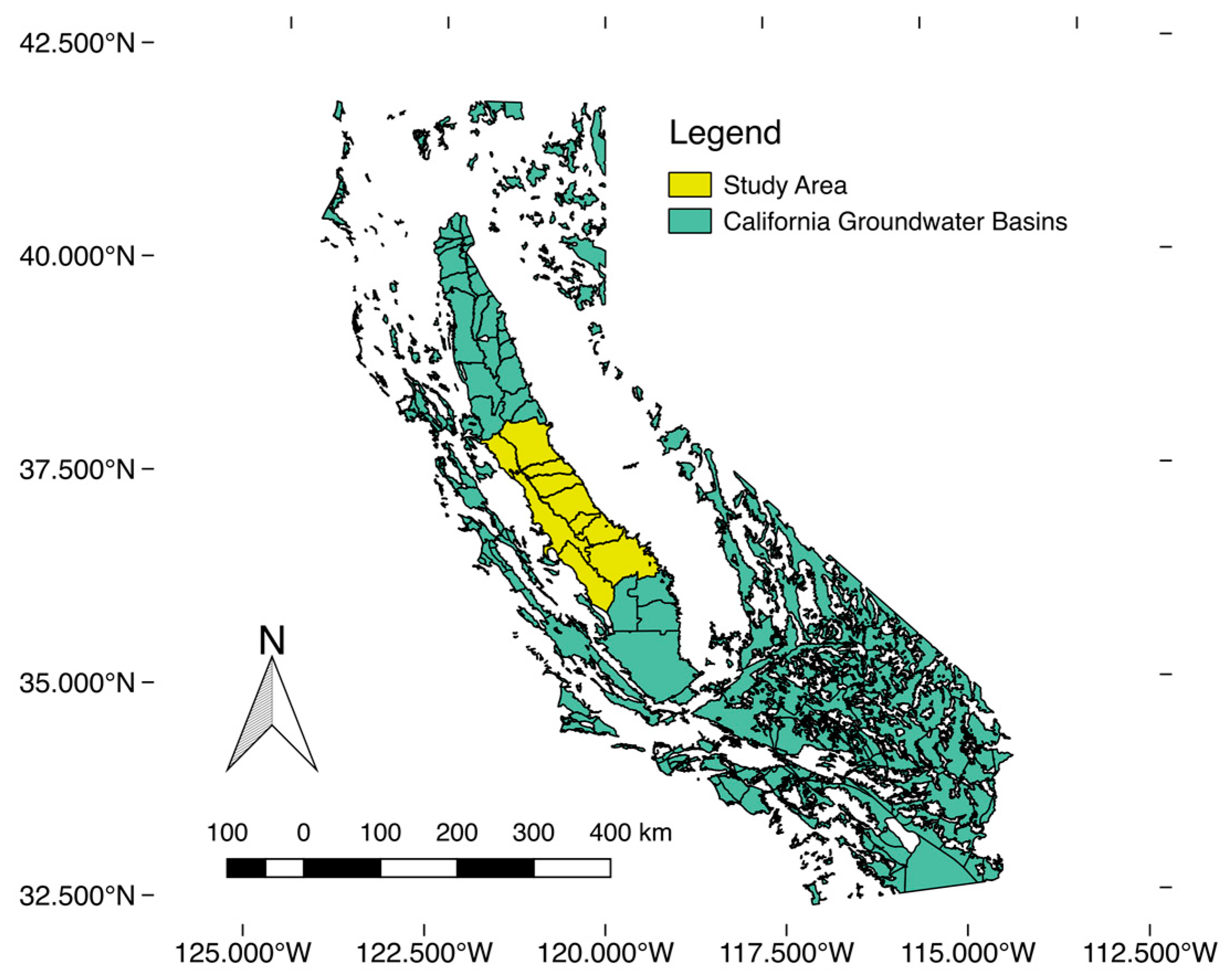 Map Of California Central Valley.Remote Sensing Free Full Text Downscaling Grace Remote Sensing