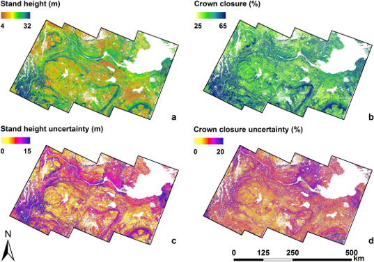 Remote Sensing Free Full Text A Forest Attribute Mapping