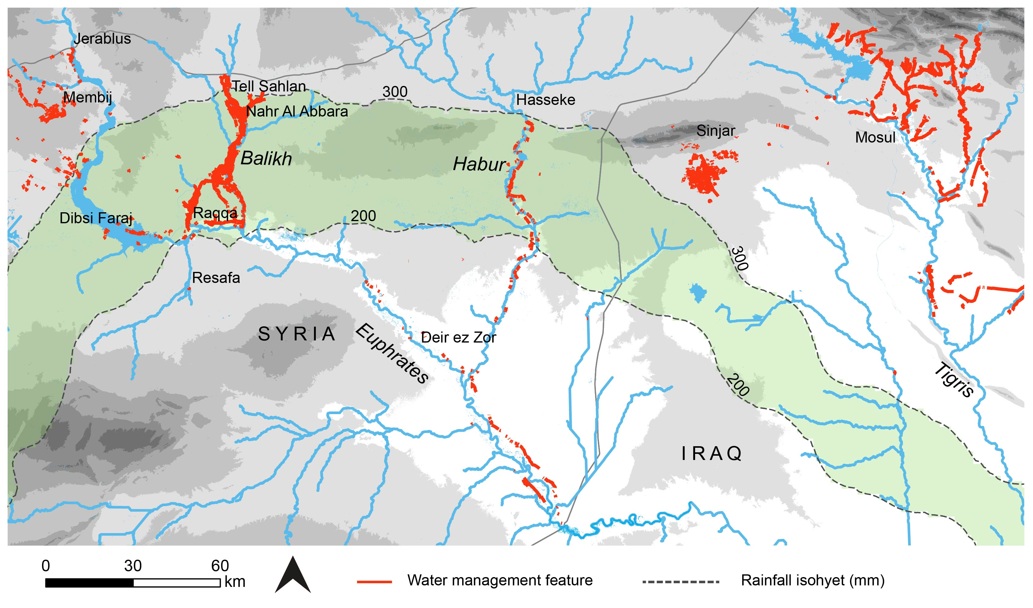 Image of: Remote Sensing Free Full Text A Remote Sensing Approach For Mapping The Development Of Ancient Water Management In The Near East Html