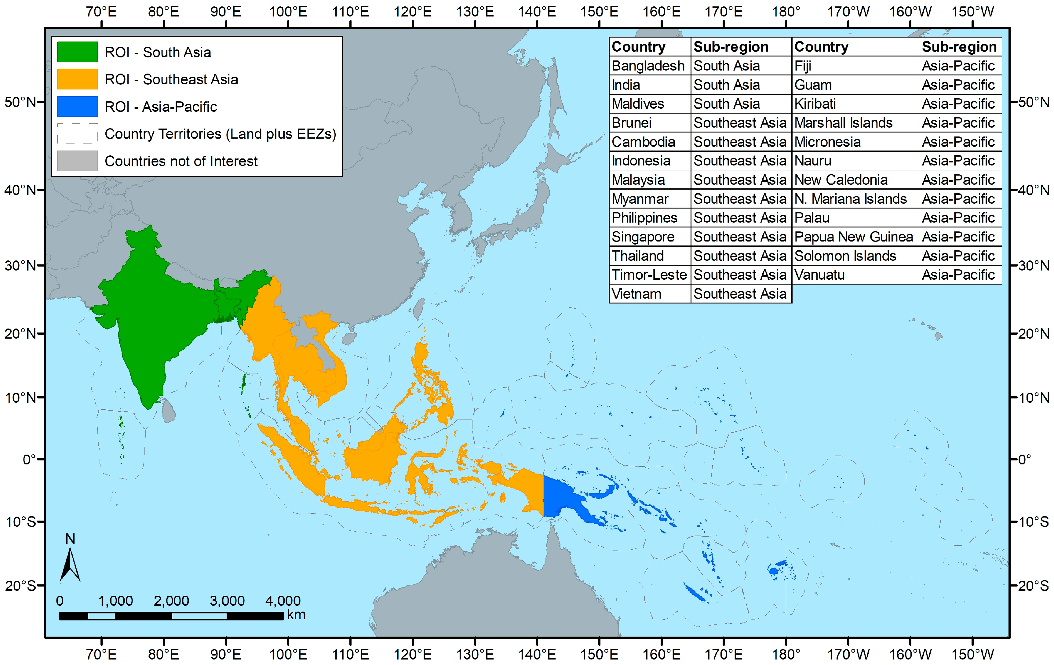 Map Of Southeast Asia And South Pacific.Remote Sensing Free Full Text Identifying Mangrove Deforestation