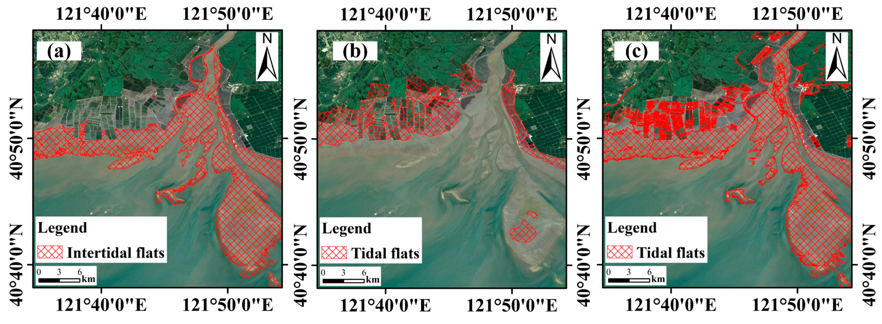 Remote Sensing | Free Full-Text | Mapping Tidal Flats with Landsat 8