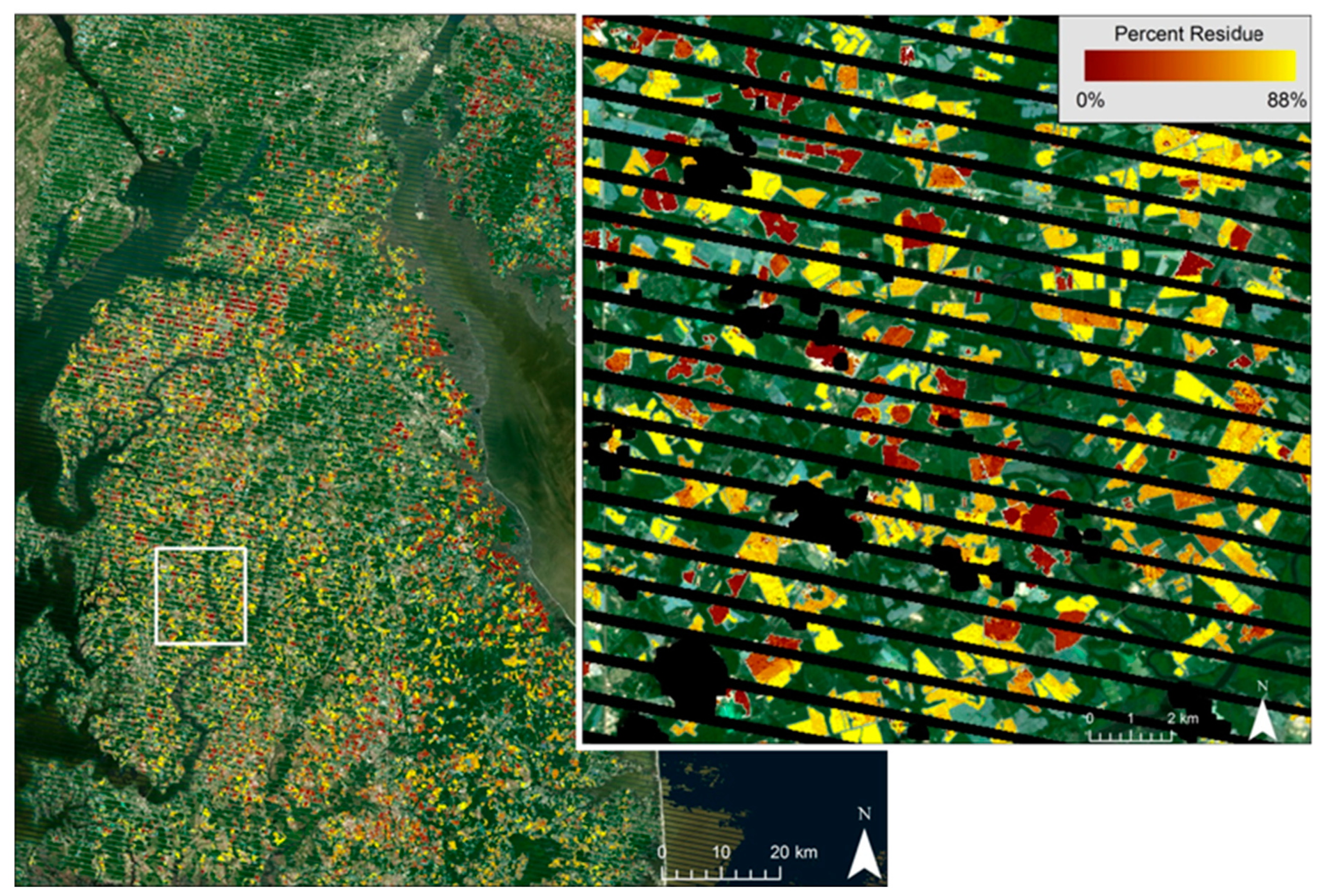 Remote Sensing   Free Full-Text   Mapping Crop Residue by