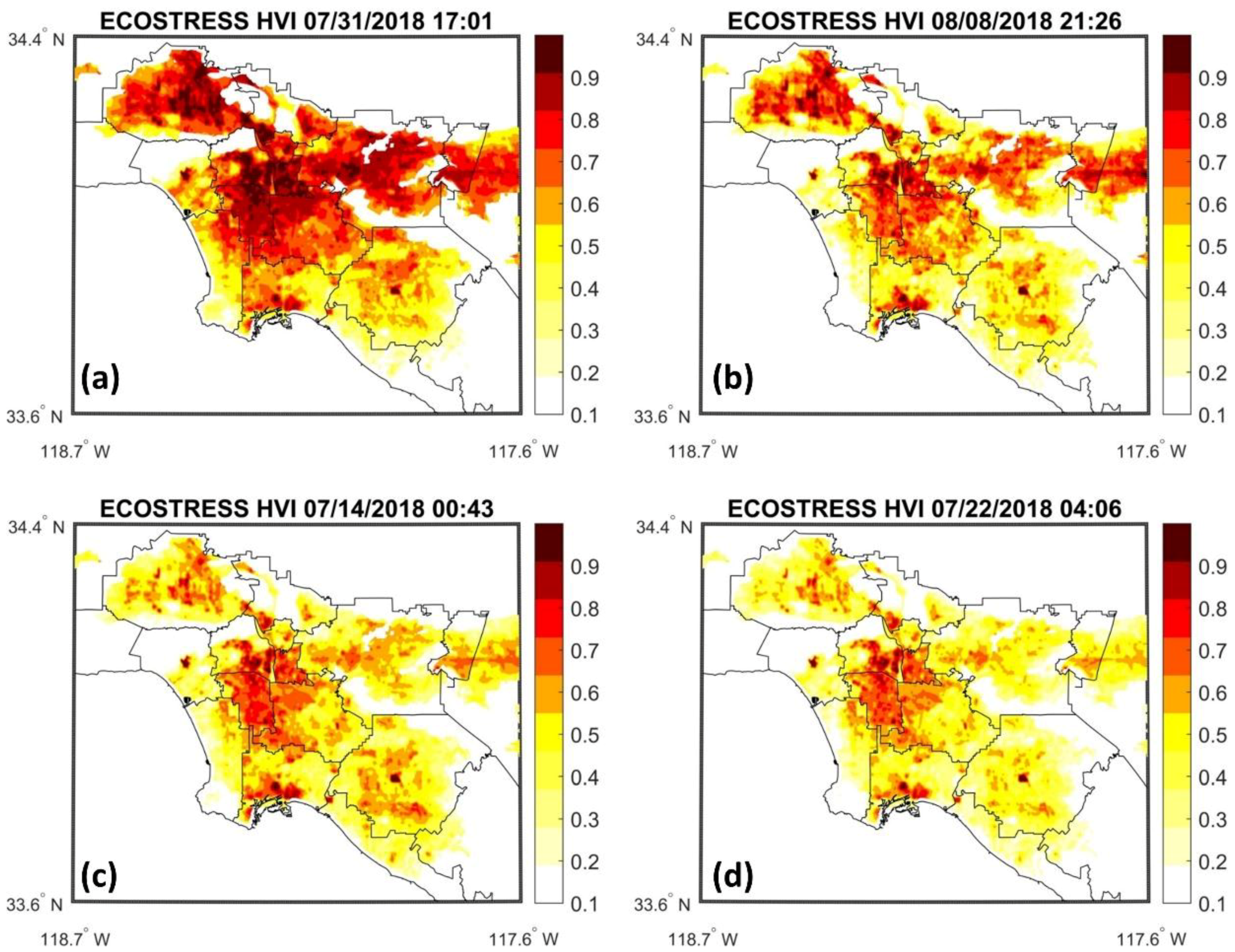 Remote Sensing | Free Full-Text | New ECOSTRESS and MODIS