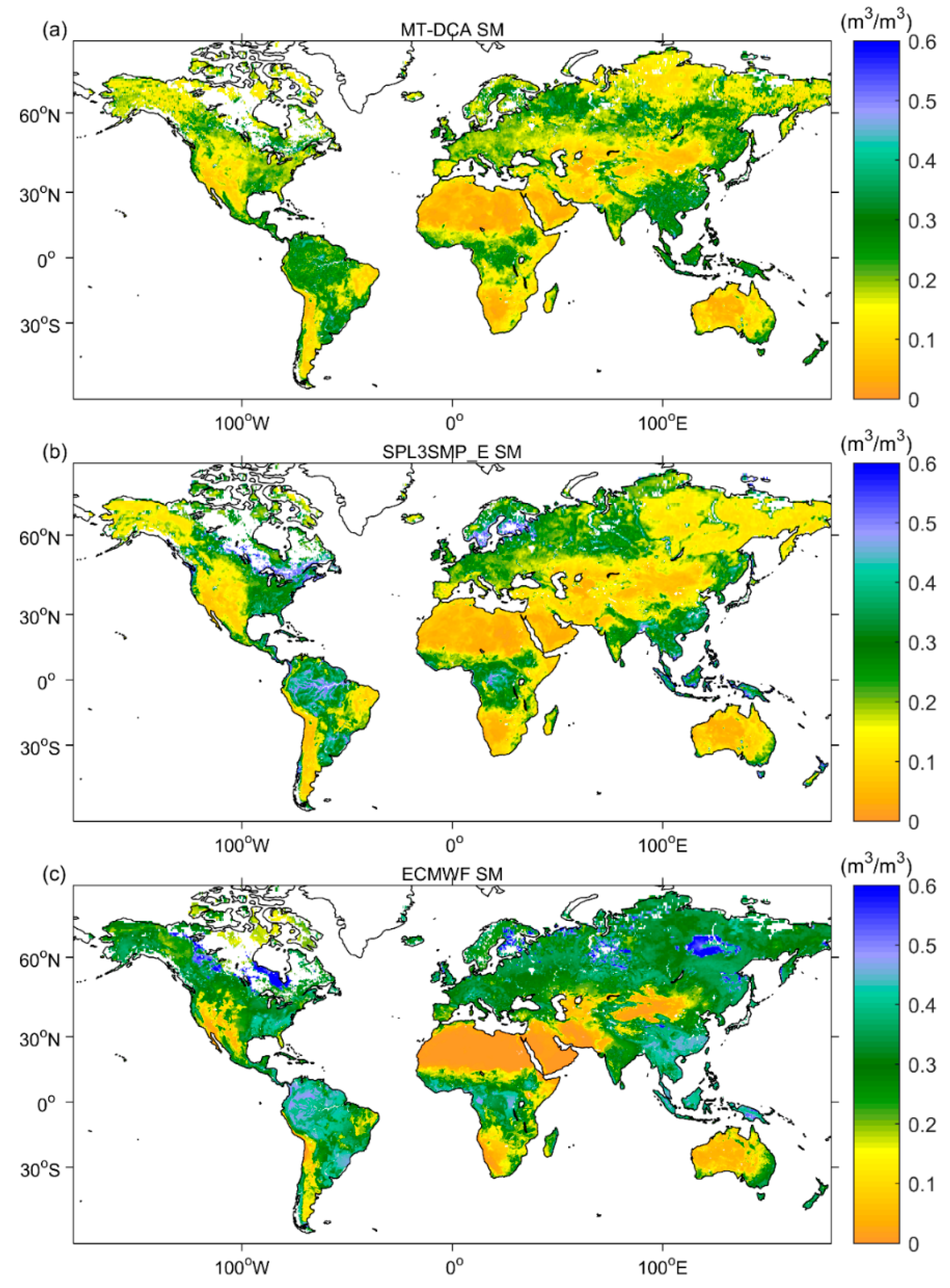 Remote Sensing | Free Full-Text | Evaluation of Two SMAP ...