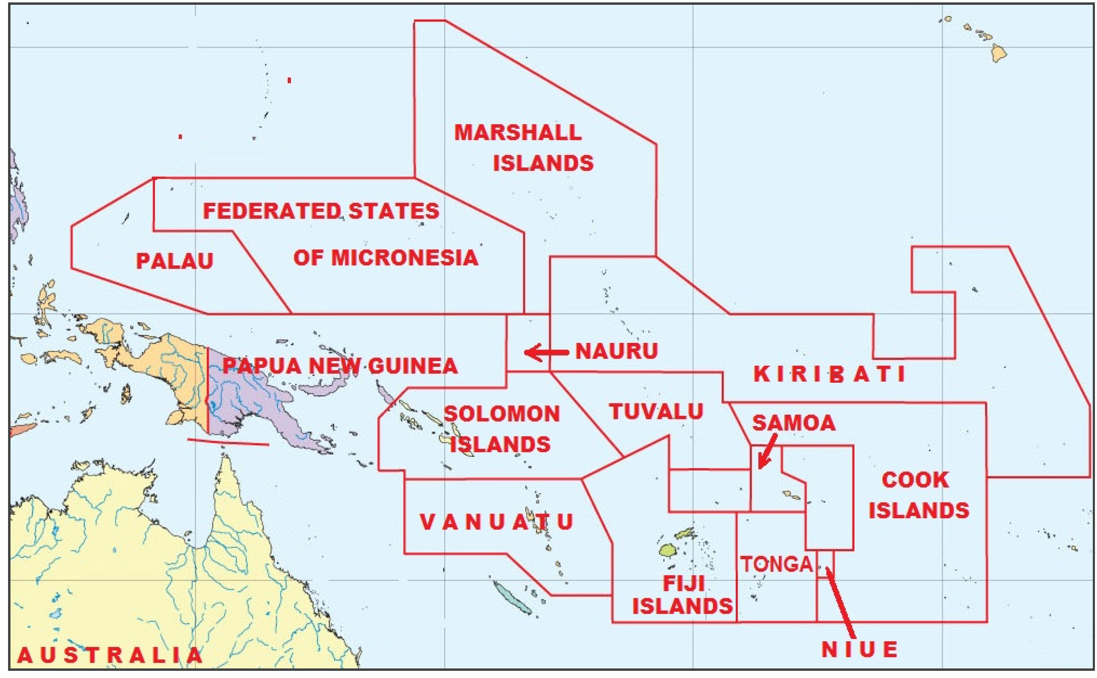 small island developing states The prime minister has set out a package of climate change support for the commonwealth's small island countries at the commonwealth summit.