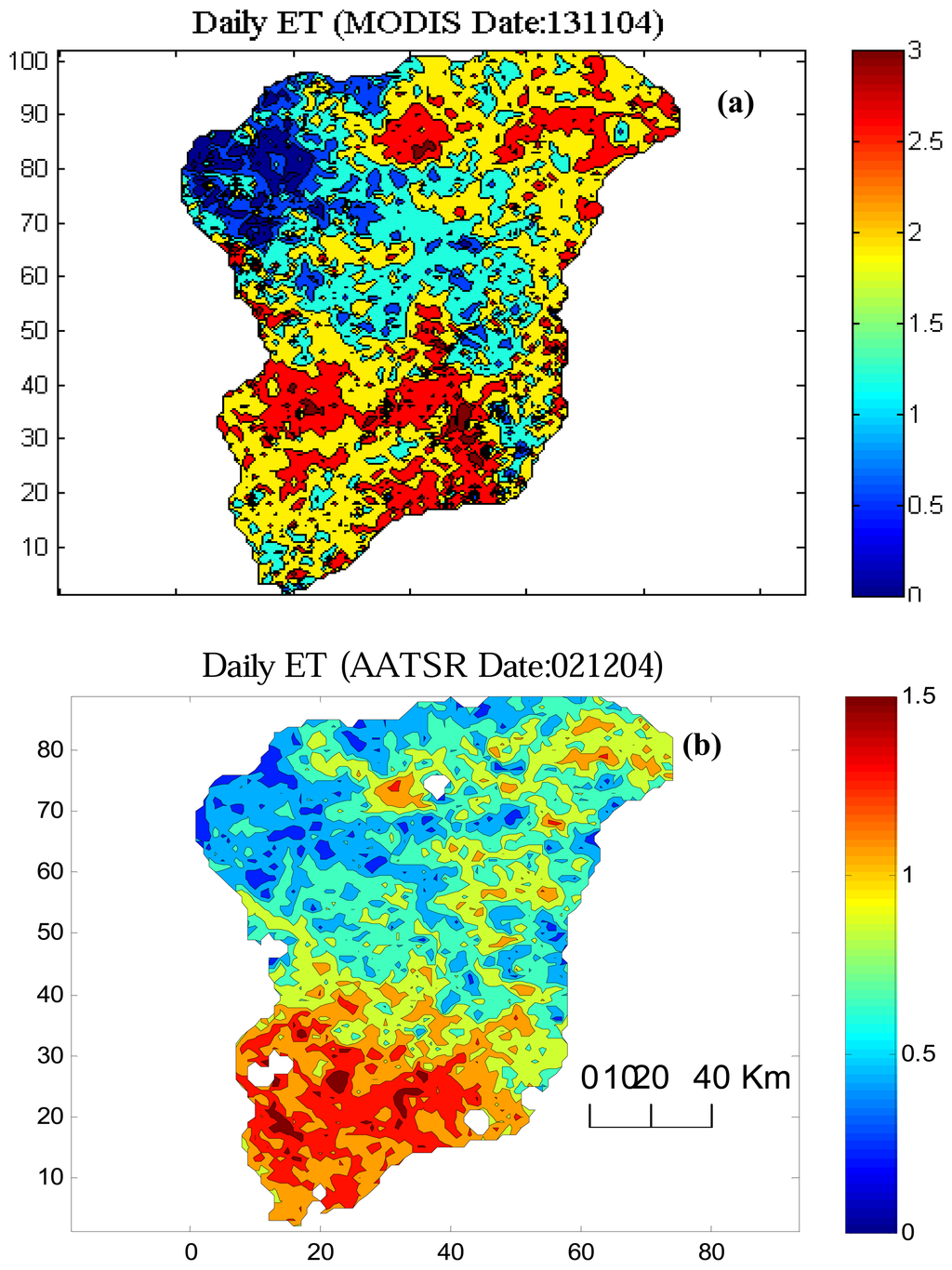 the complementary relationship in estimation of regional evapotranspiration