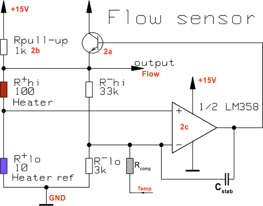 Sensors Free Full Text Integrated Ltcc Pressure Flow Temperature Wiring Diagram In Addition What Are Ponent Cables Furthermore Lm358 10 11156 V2f7 1024 Figure 7 Simplified Electrical Schematic