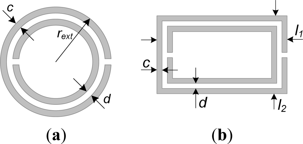 split ring resonator thesis 782 ieee transactions on plasma science, vol 31, no 4, august 2003 low-power microwave plasma source based on a microstrip split-ring resonator.